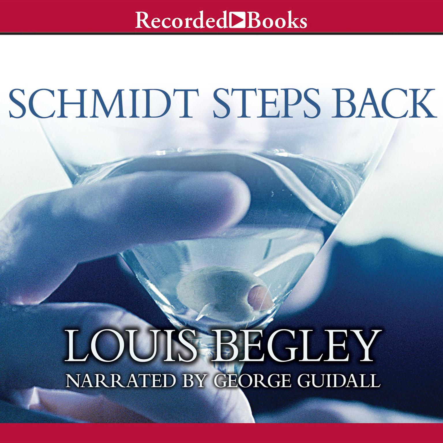 Printable Schmidt Steps Back Audiobook Cover Art