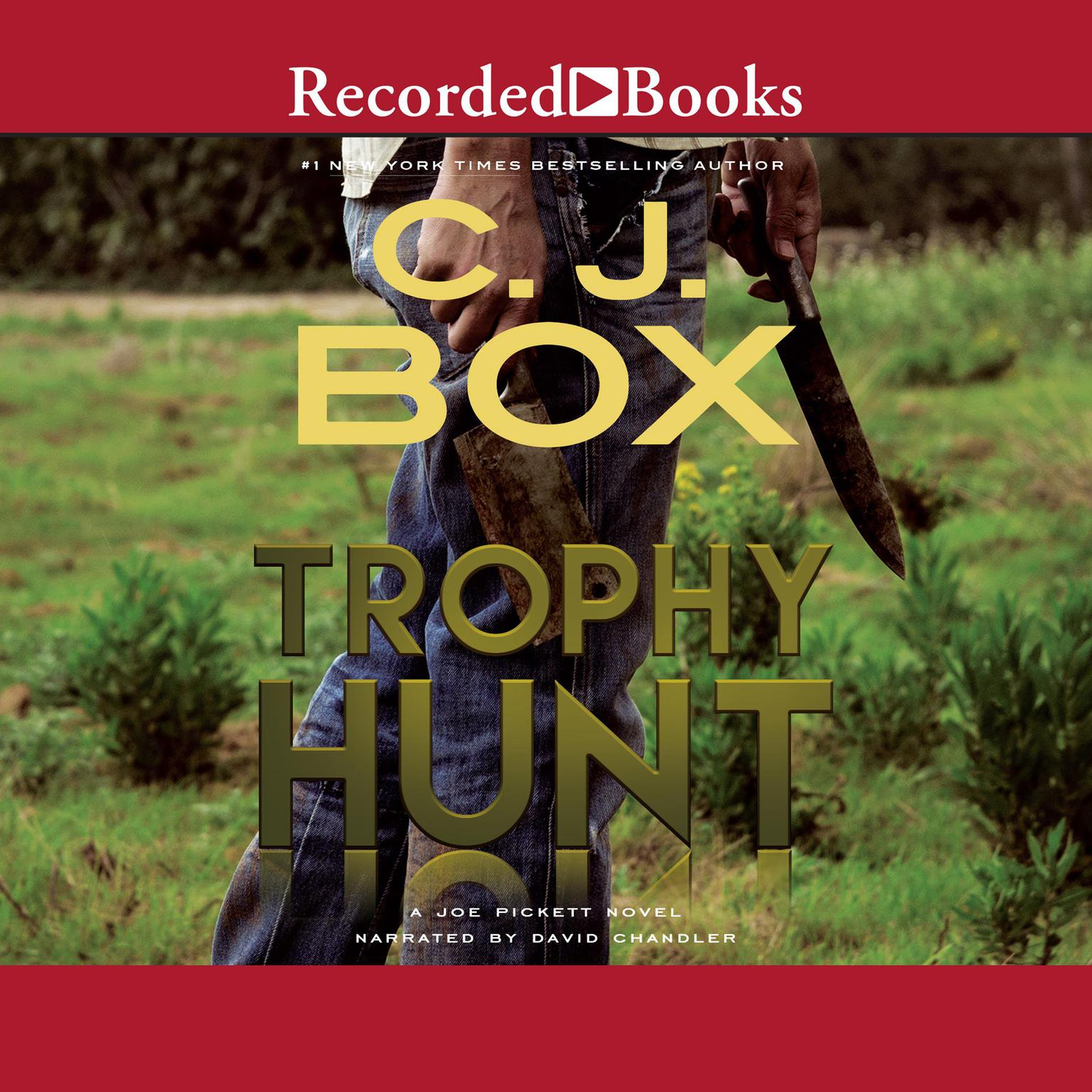 Printable Trophy Hunt Audiobook Cover Art