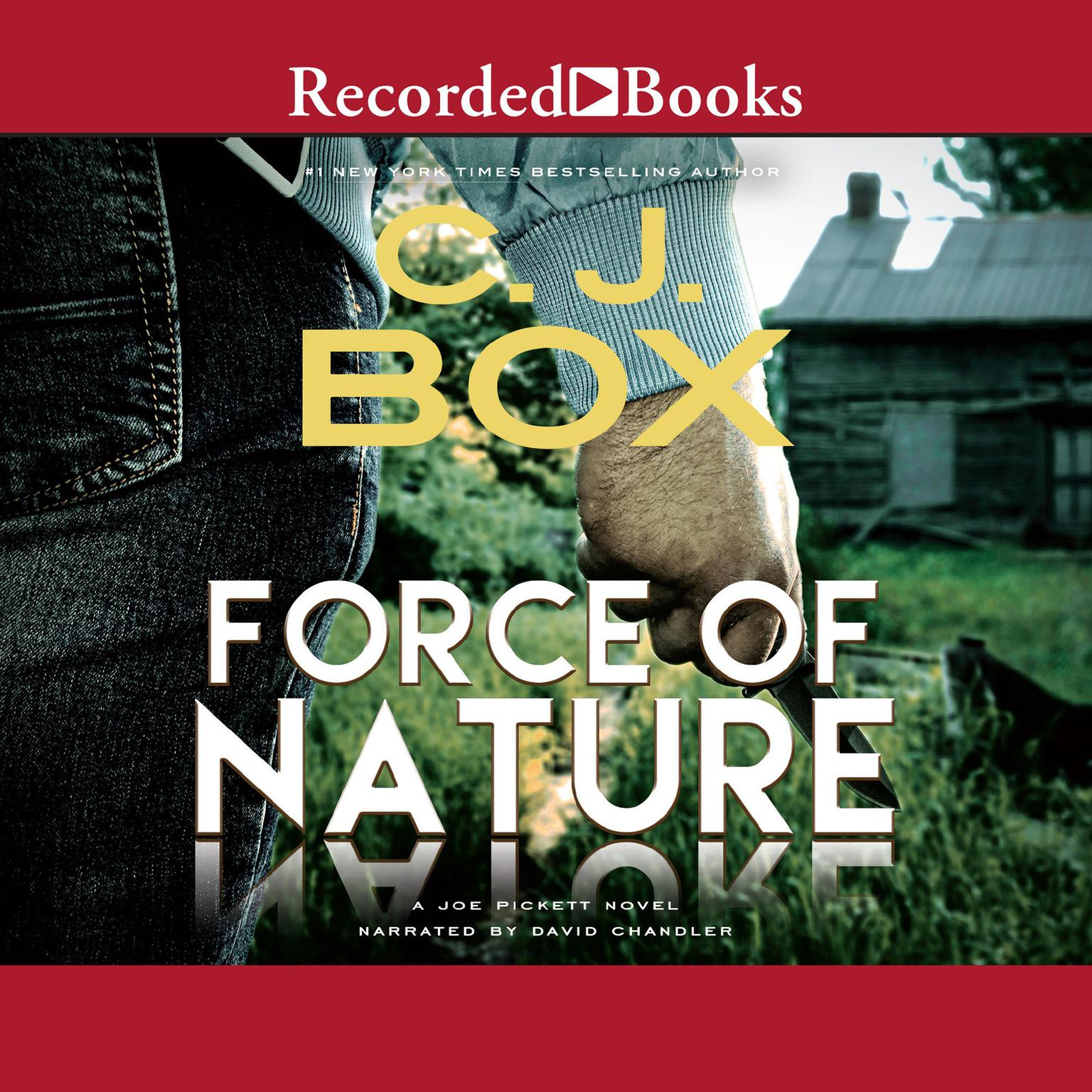 Printable Force of Nature Audiobook Cover Art
