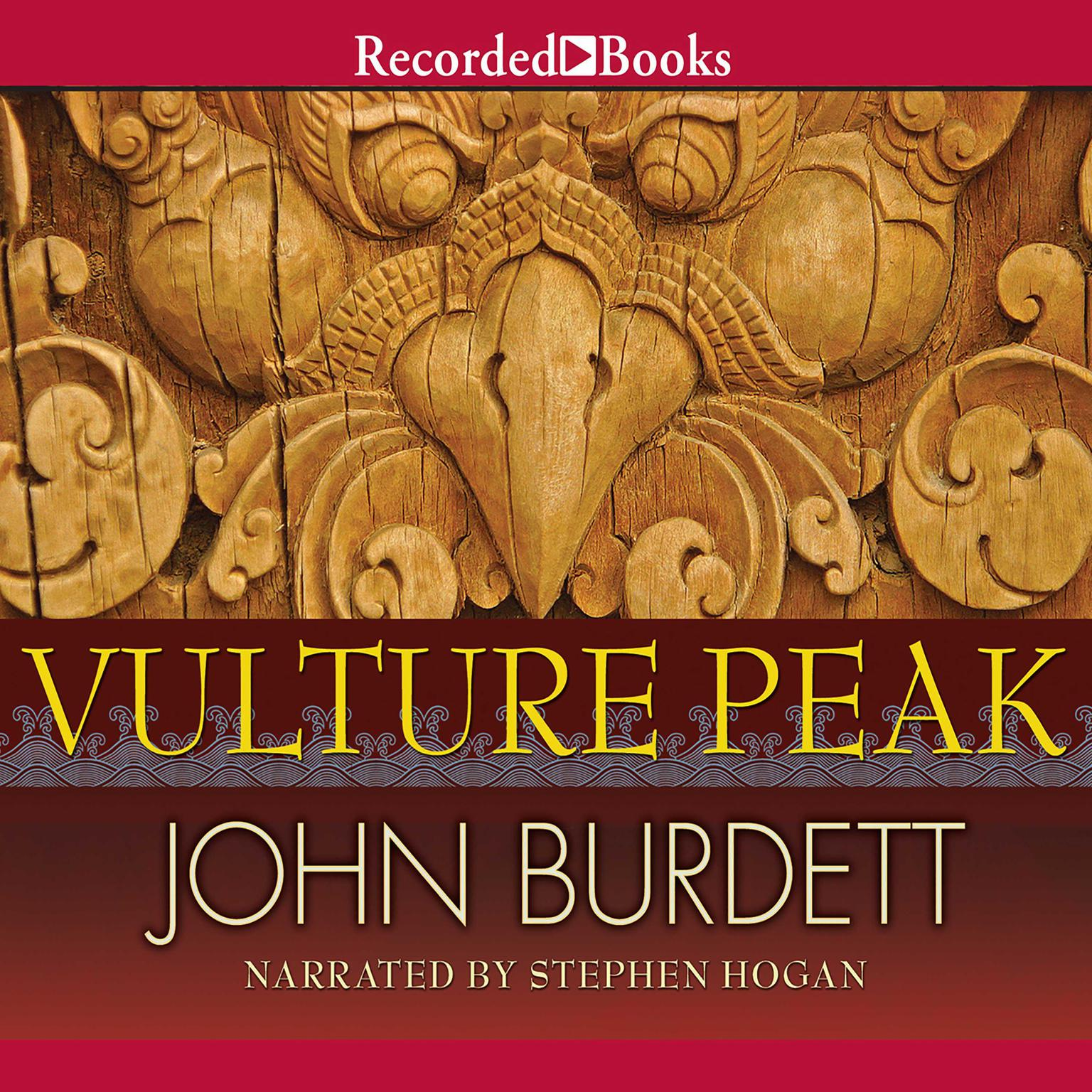Printable Vulture Peak Audiobook Cover Art