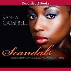 Scandals Audiobook, by Sasha Campbell