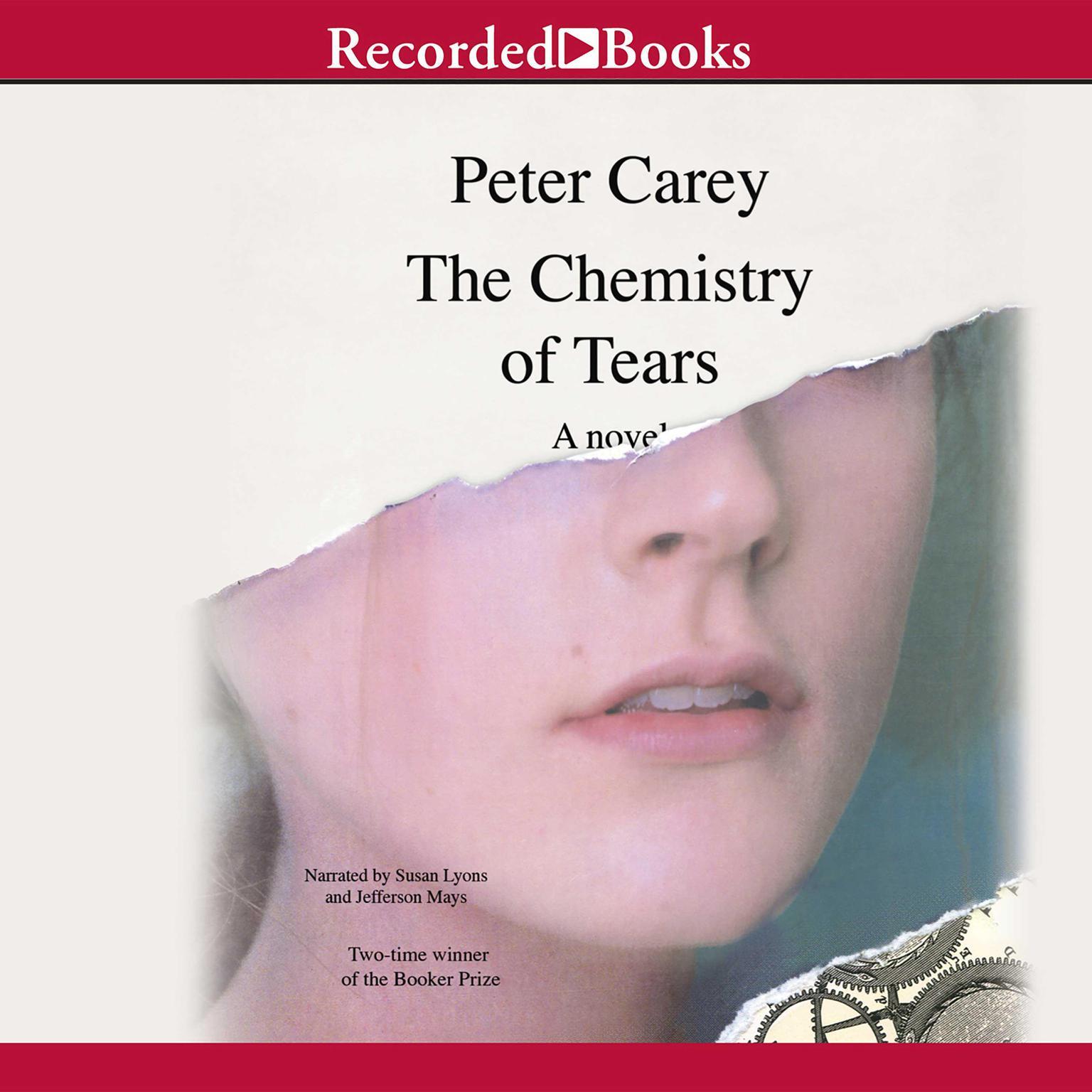 Printable The Chemistry of Tears Audiobook Cover Art