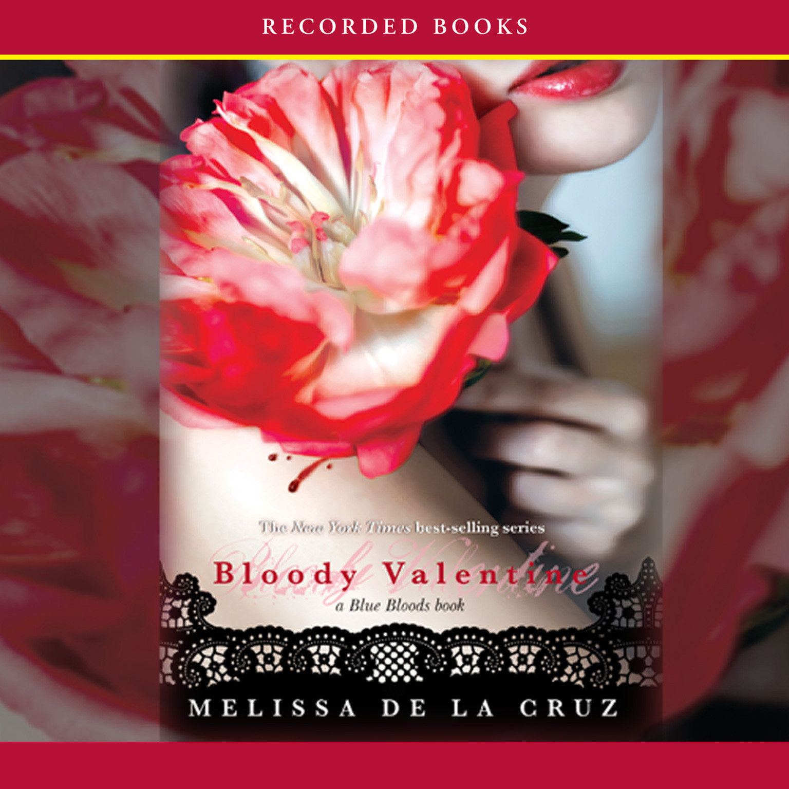 Printable Bloody Valentine Audiobook Cover Art