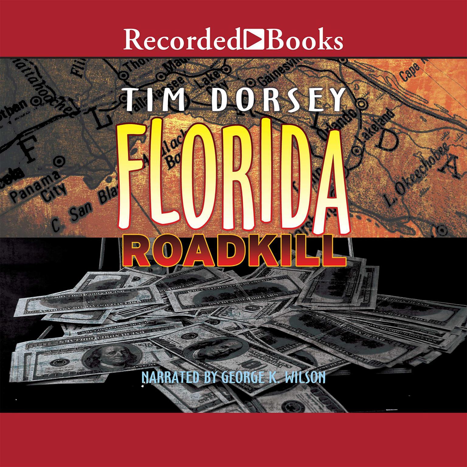 Printable Florida Roadkill Audiobook Cover Art