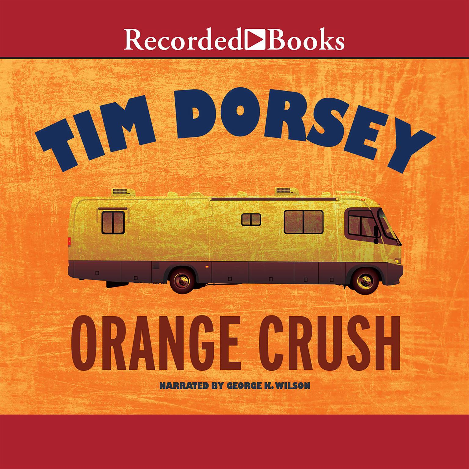 Printable Orange Crush Audiobook Cover Art
