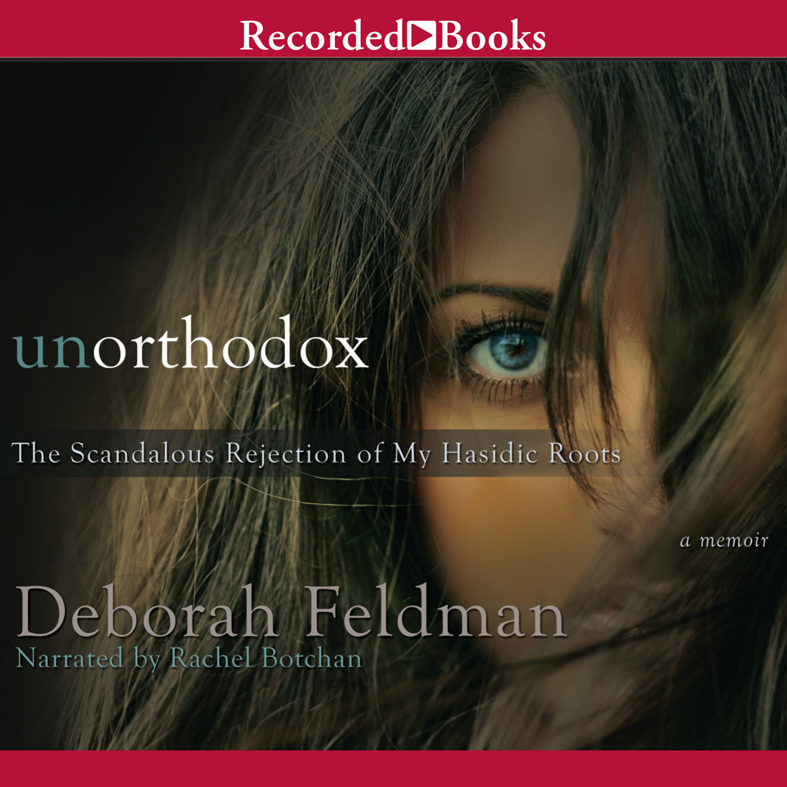 Printable Unorthodox Audiobook Cover Art