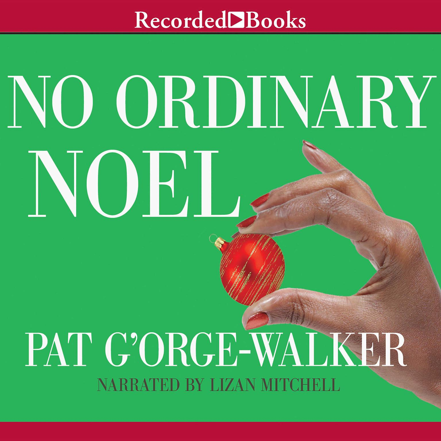 Printable No Ordinary Noel Audiobook Cover Art