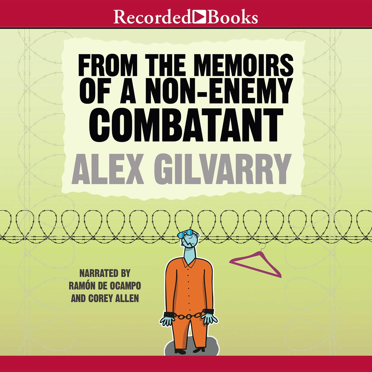 Printable From the Memoirs of a Non-Enemy Combatant Audiobook Cover Art