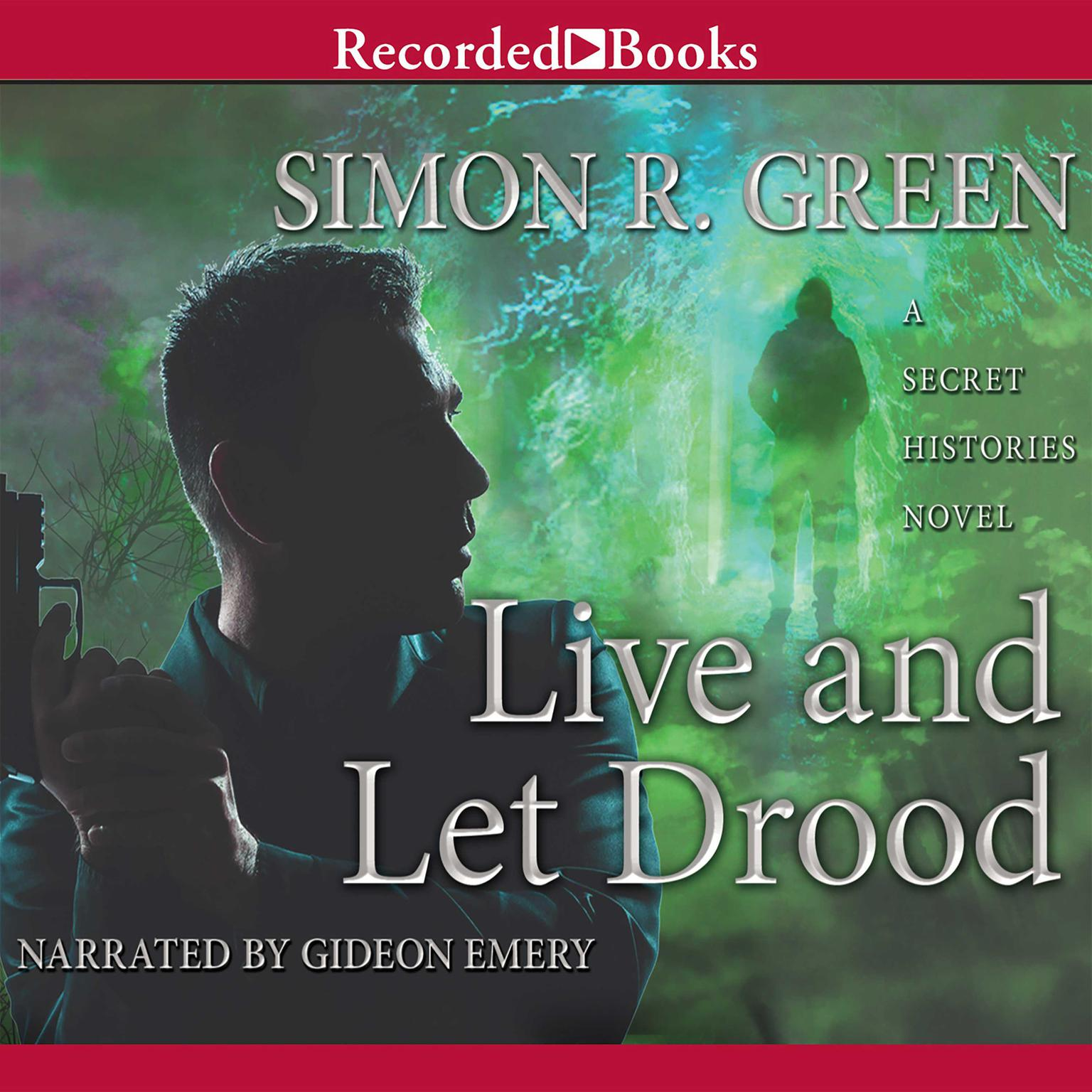 Printable Live and Let Drood Audiobook Cover Art
