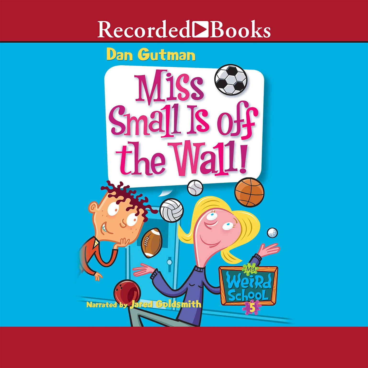 Printable Miss Small Is Off the Wall Audiobook Cover Art