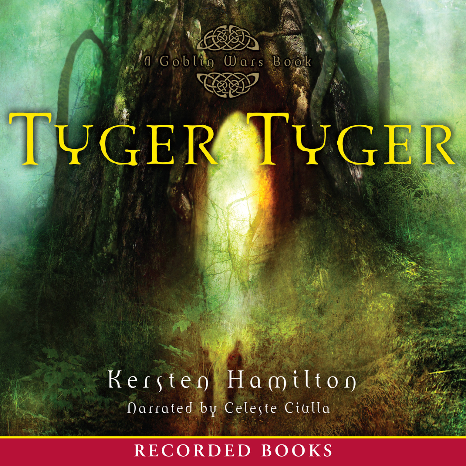 Printable Tyger Tyger Audiobook Cover Art