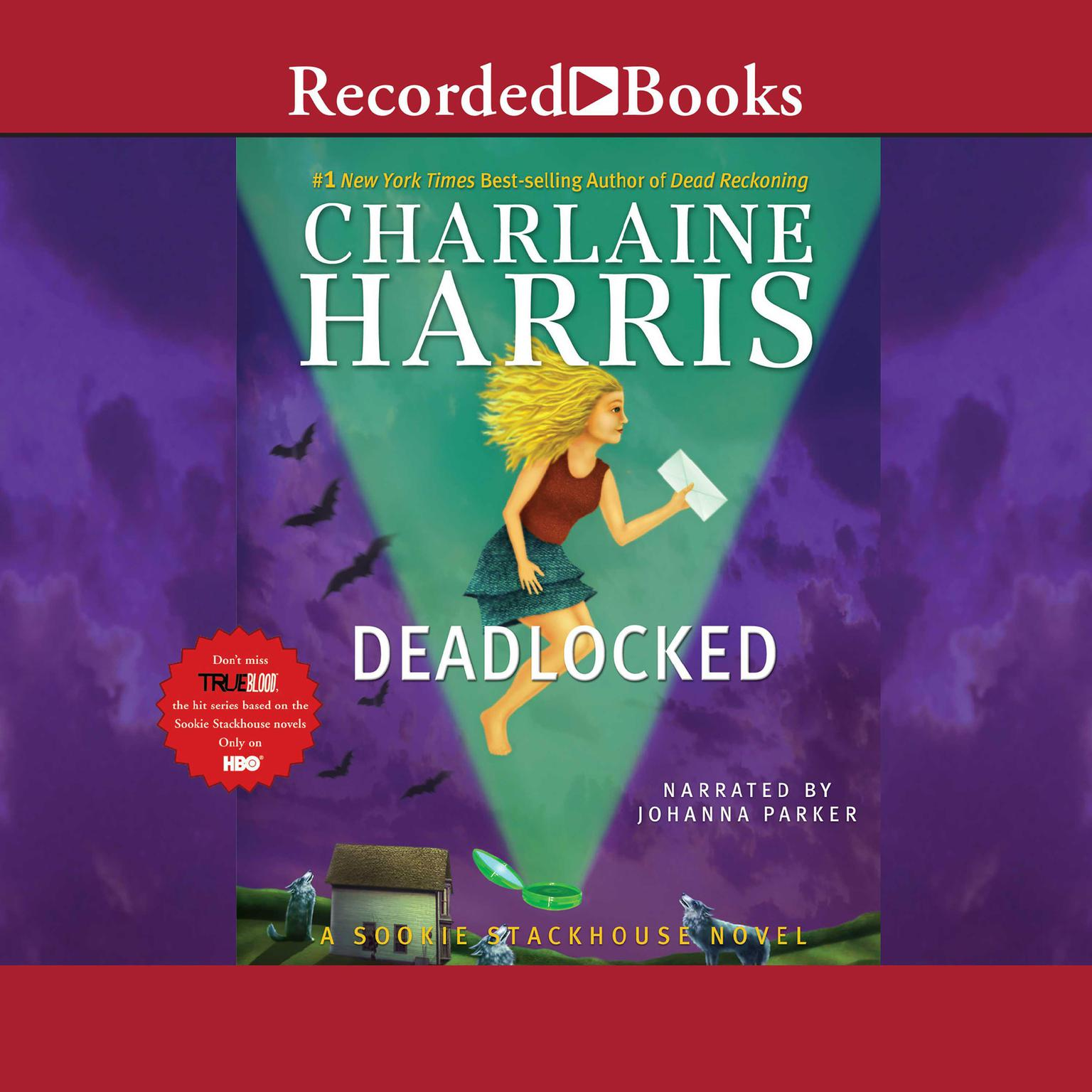 Printable Deadlocked Audiobook Cover Art