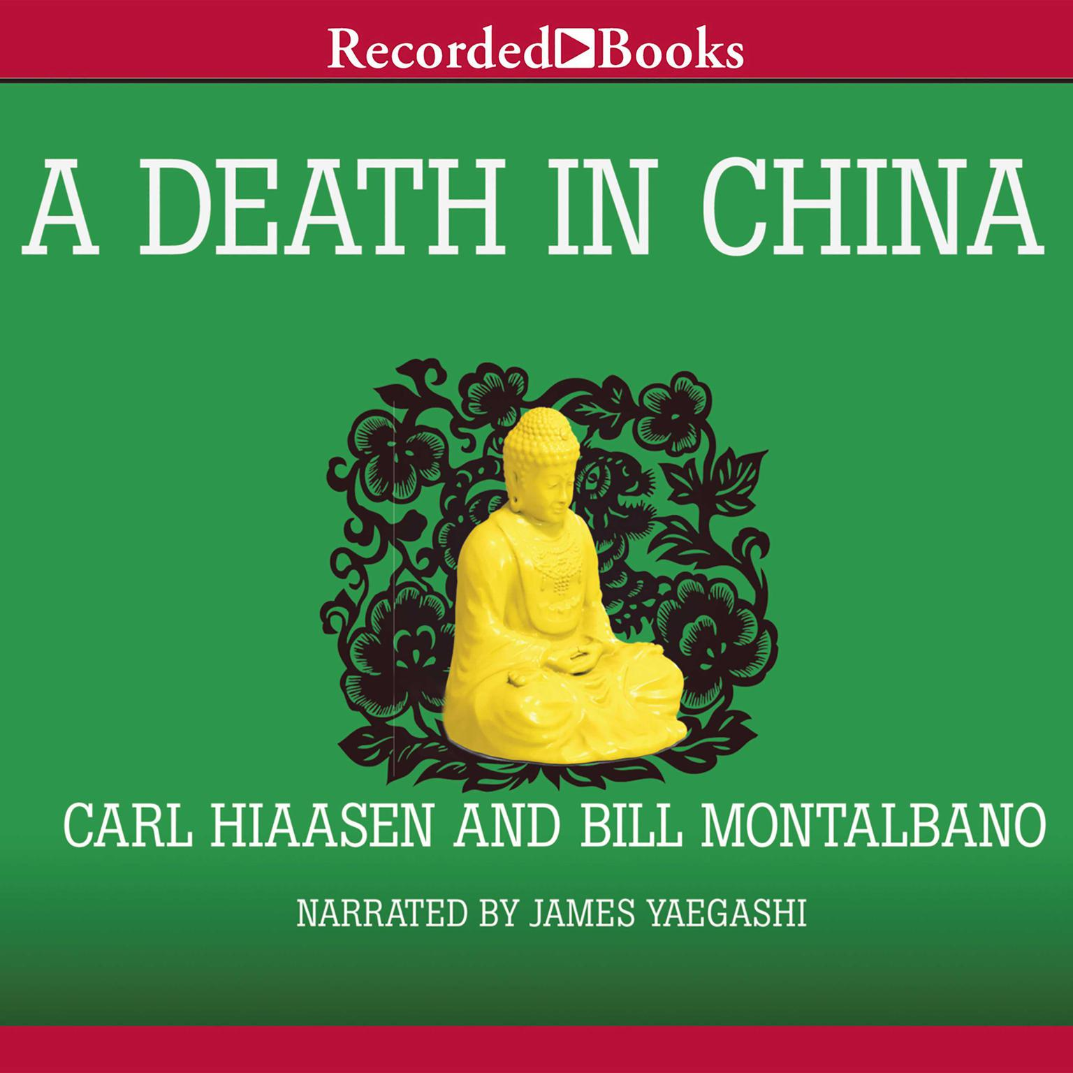 Printable A Death in China Audiobook Cover Art