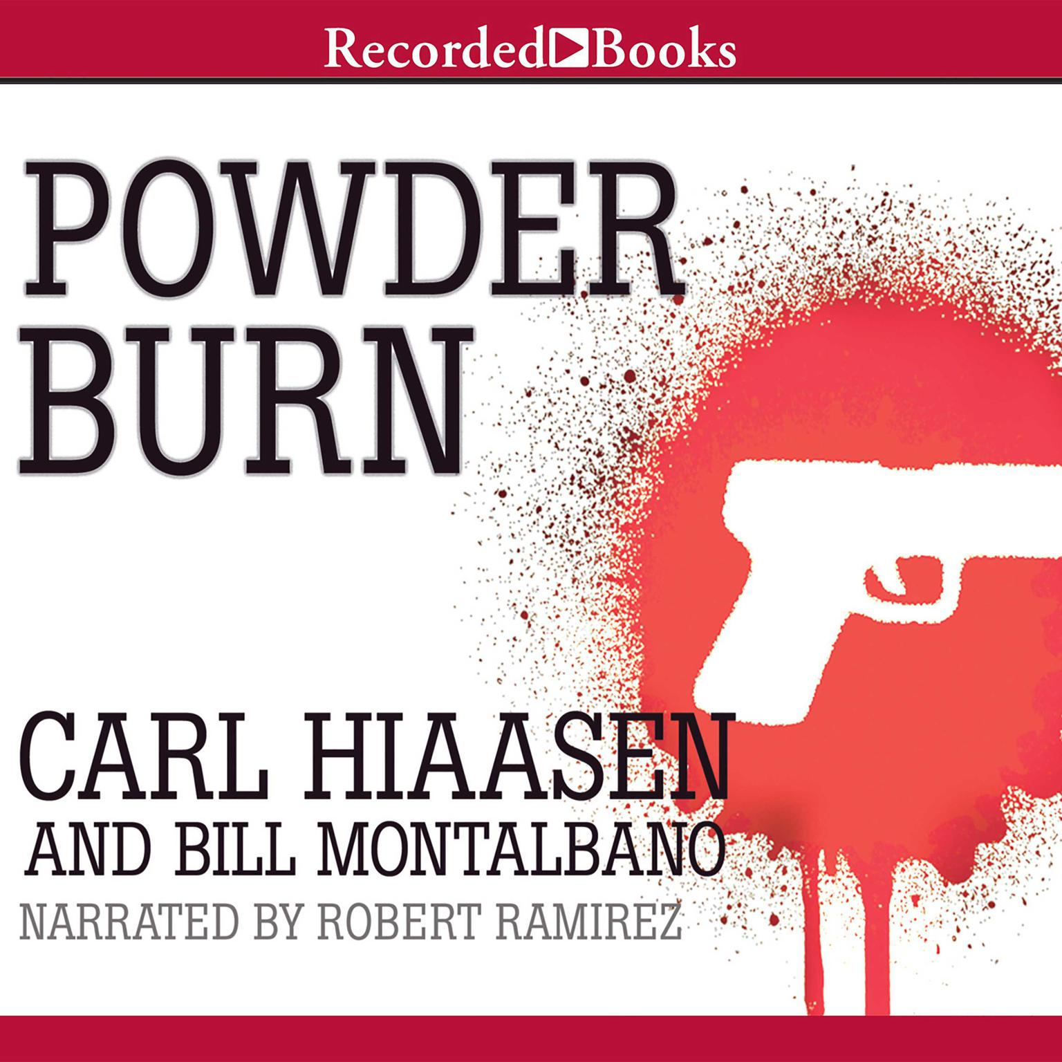 Printable Powder Burn Audiobook Cover Art