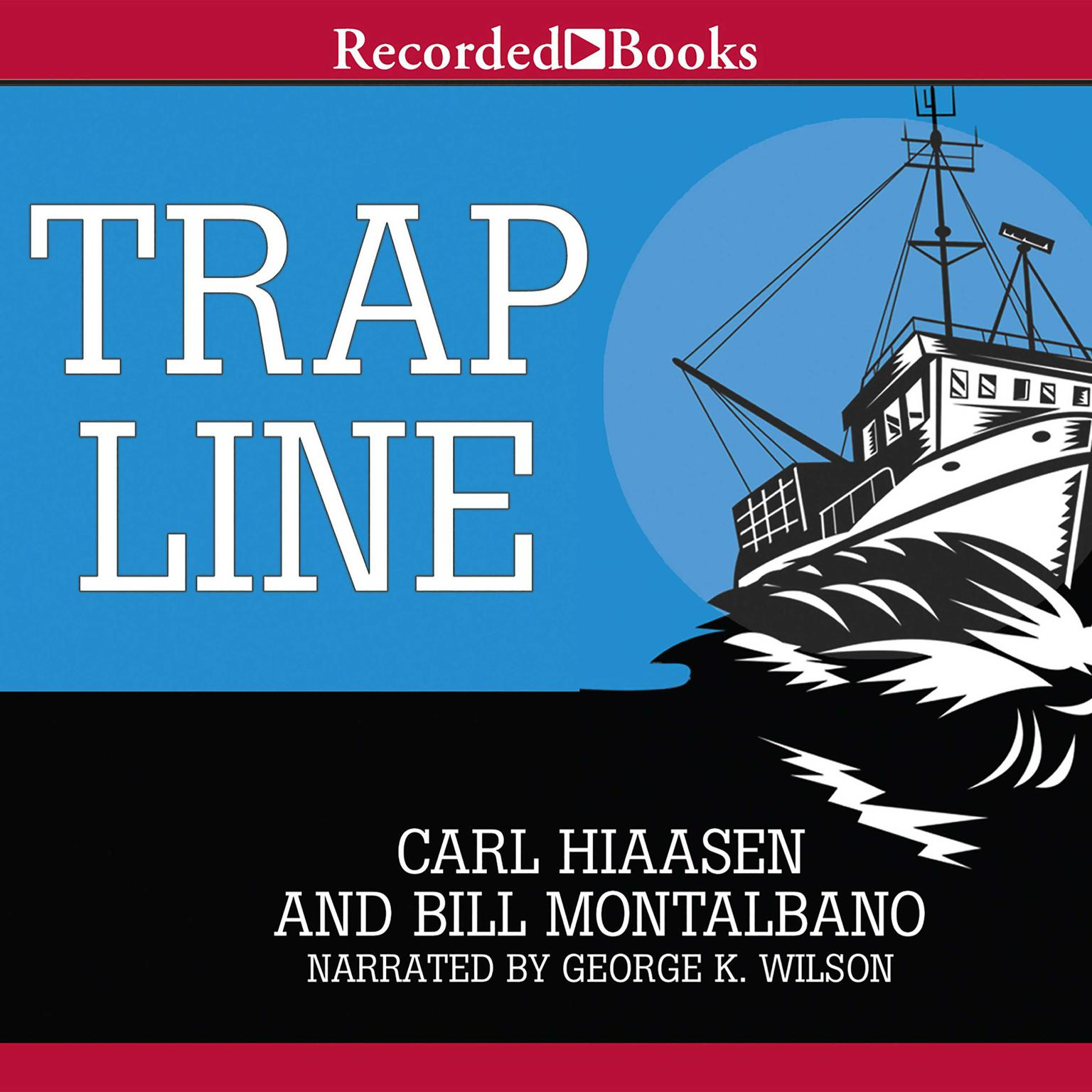 Printable Trap Line Audiobook Cover Art