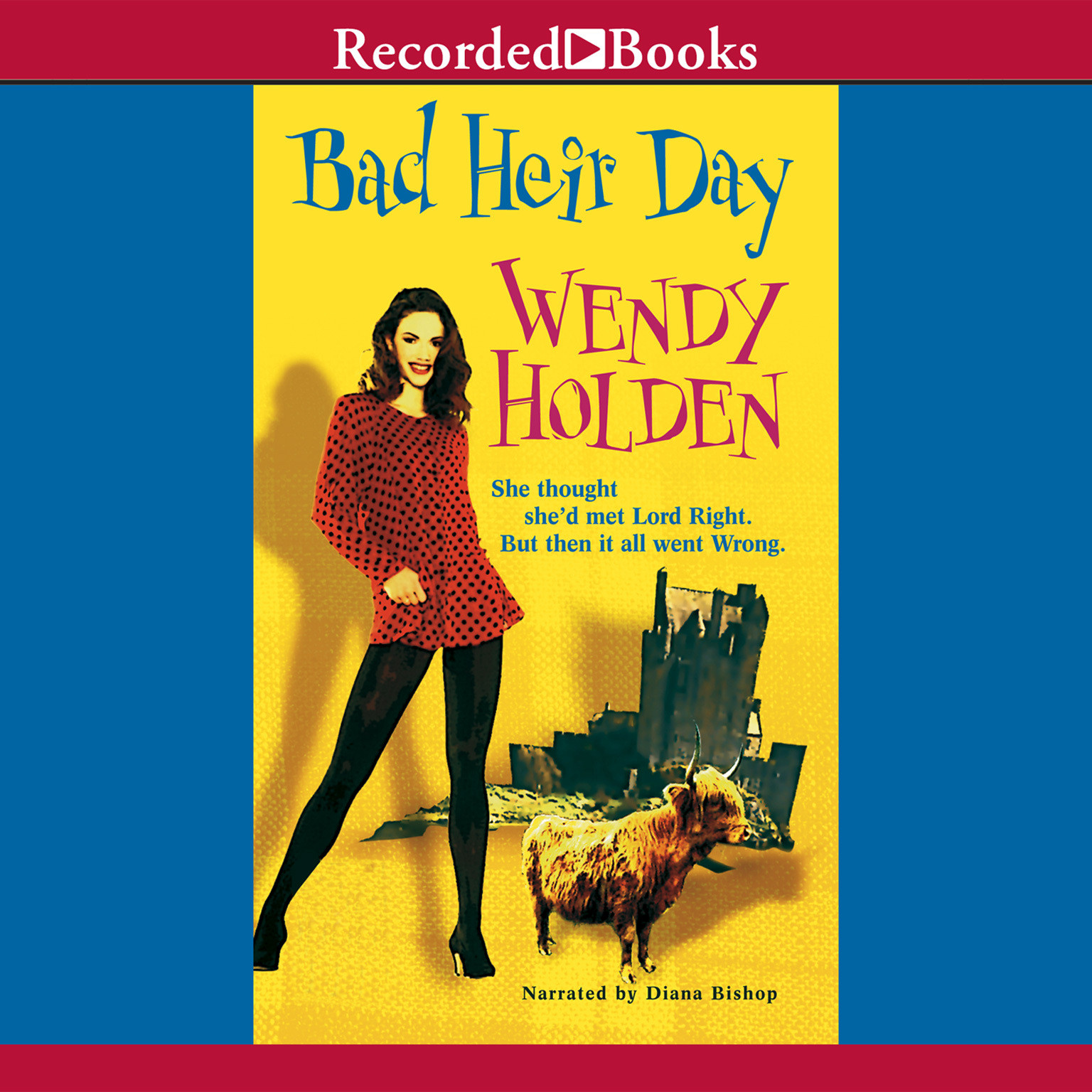 Printable Bad Heir Day Audiobook Cover Art