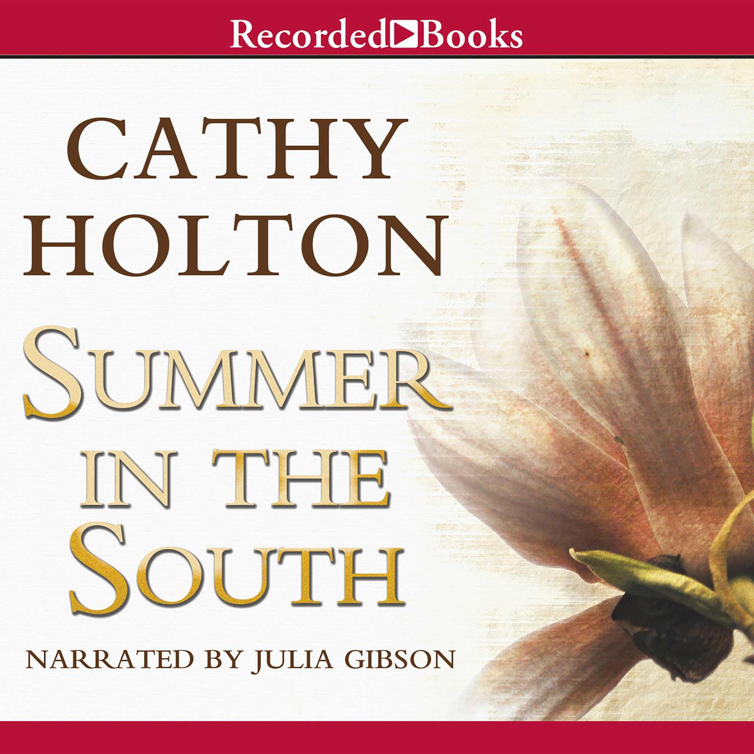 Printable Summer in the South Audiobook Cover Art