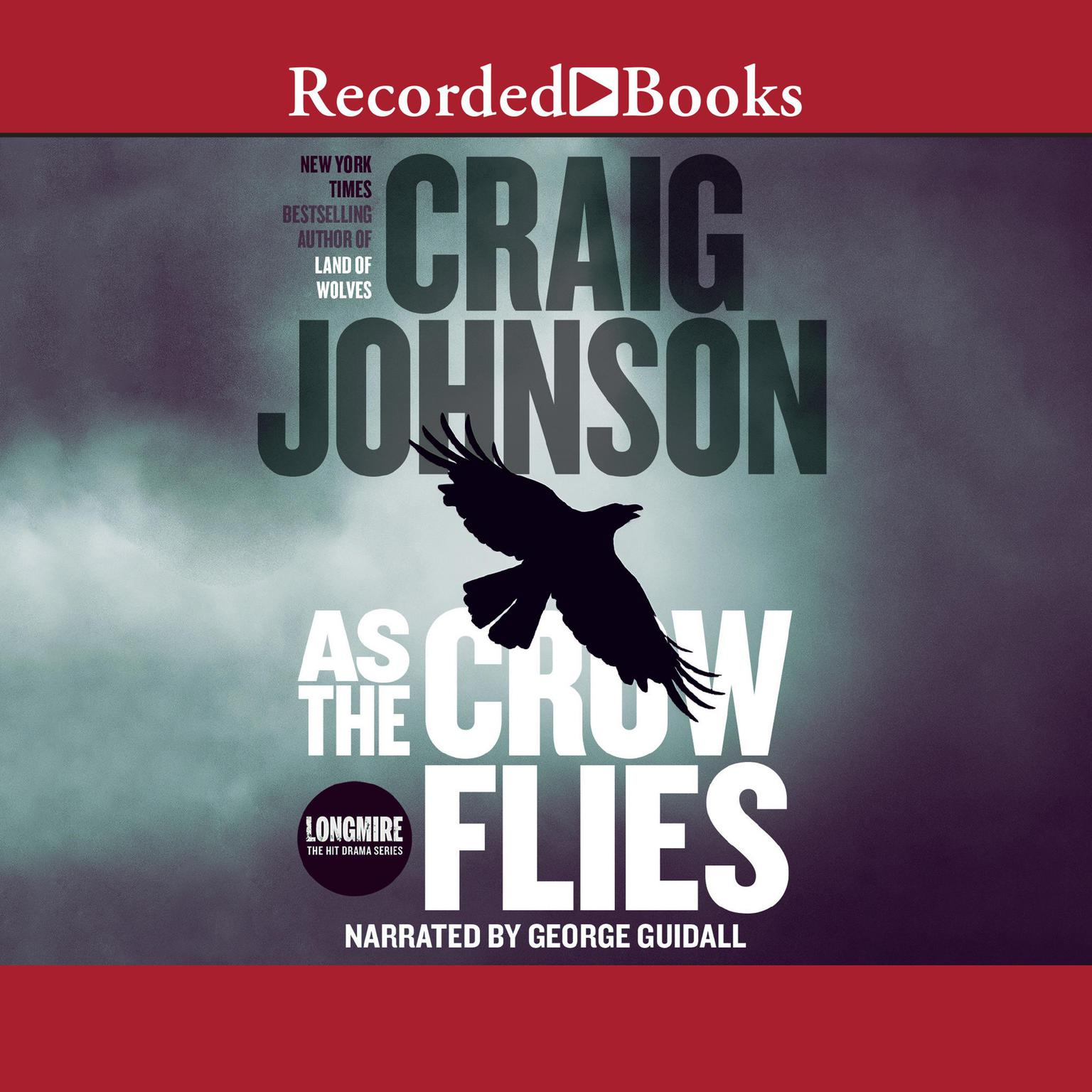 Printable As the Crow Flies Audiobook Cover Art