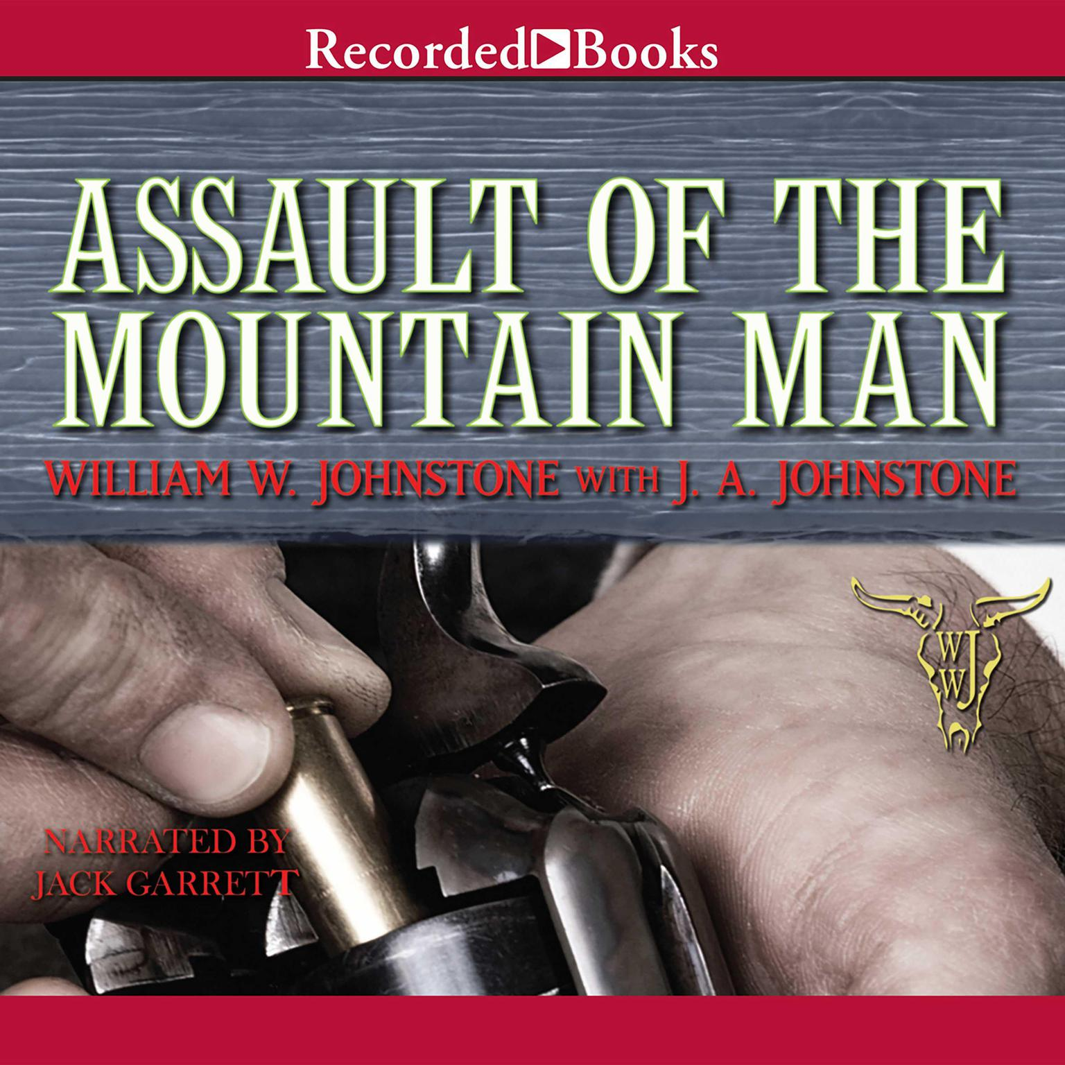 Printable Assault of the Mountain Man Audiobook Cover Art
