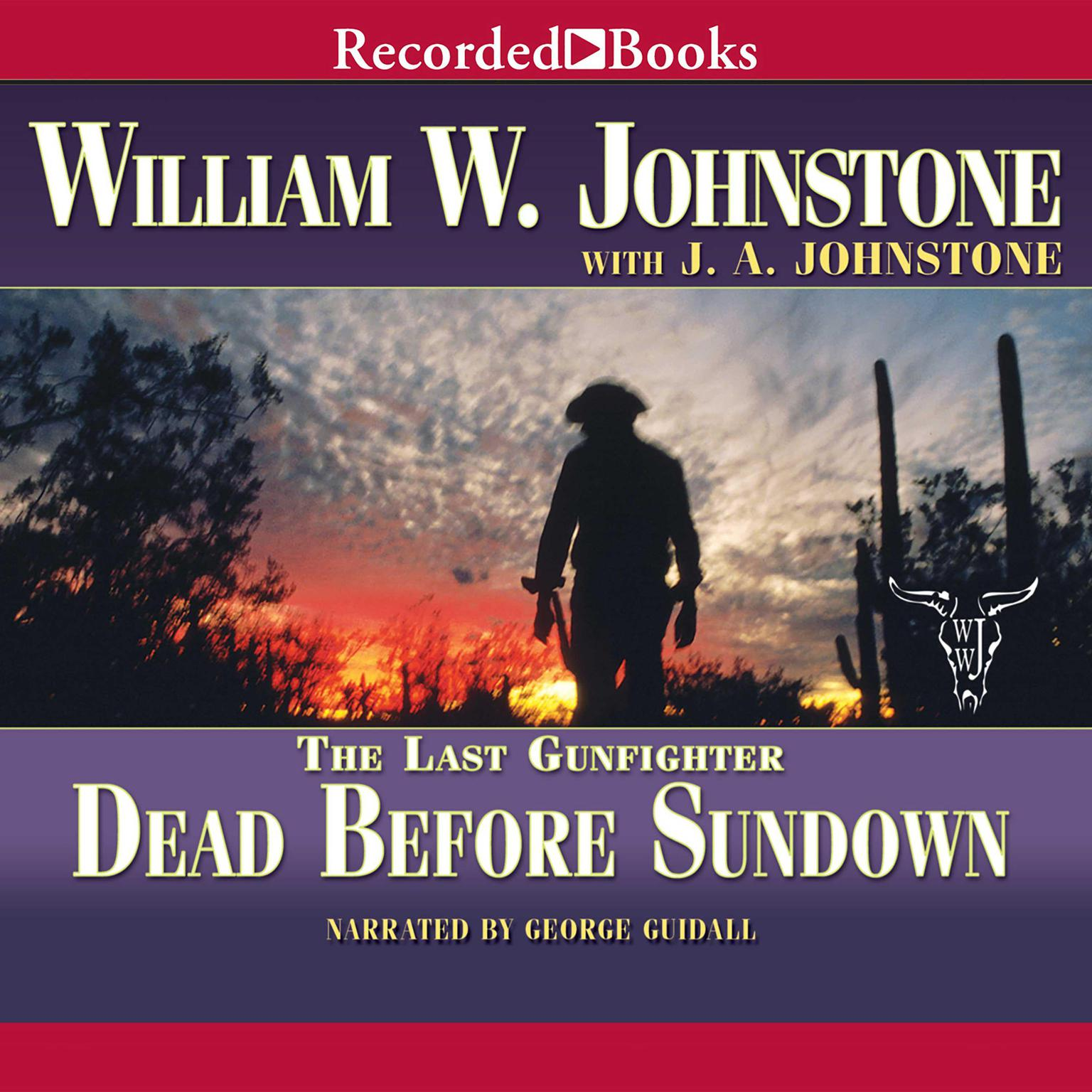 Printable Dead before Sundown Audiobook Cover Art