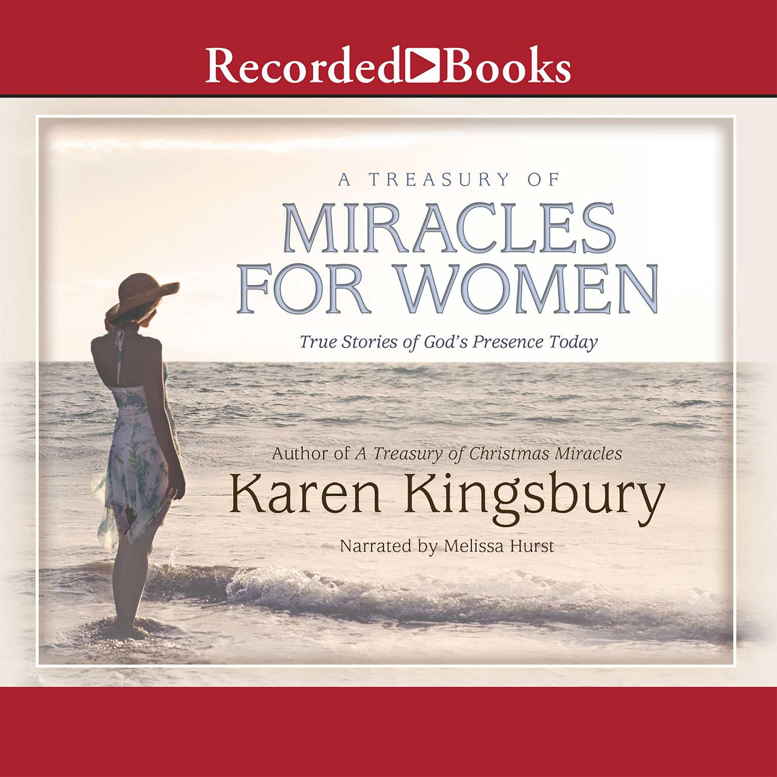 Printable A Treasury of Miracles for Women Audiobook Cover Art