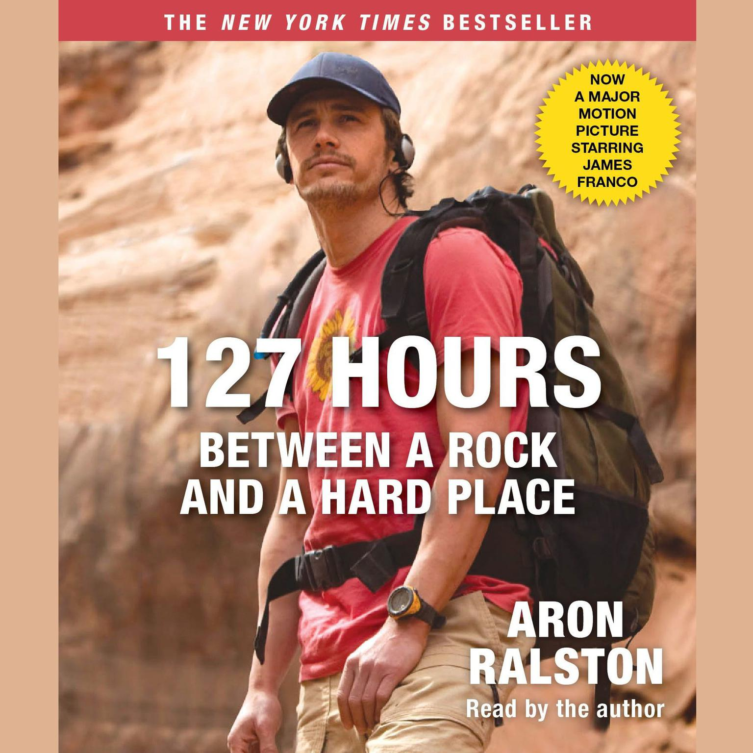 Printable 127 Hours Movie Tie- In: Between a Rock and a Hard Place Audiobook Cover Art