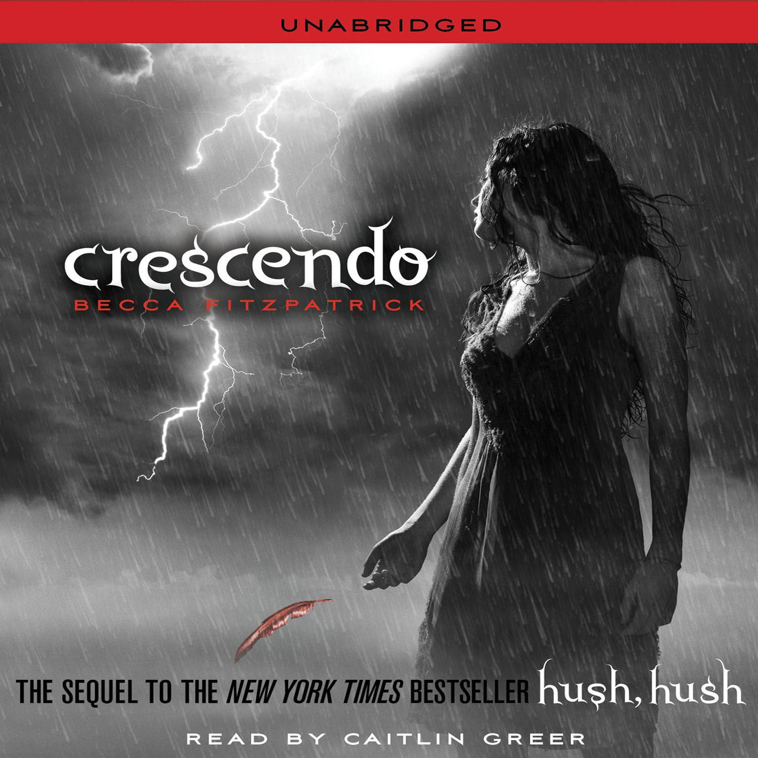 Printable Crescendo Audiobook Cover Art