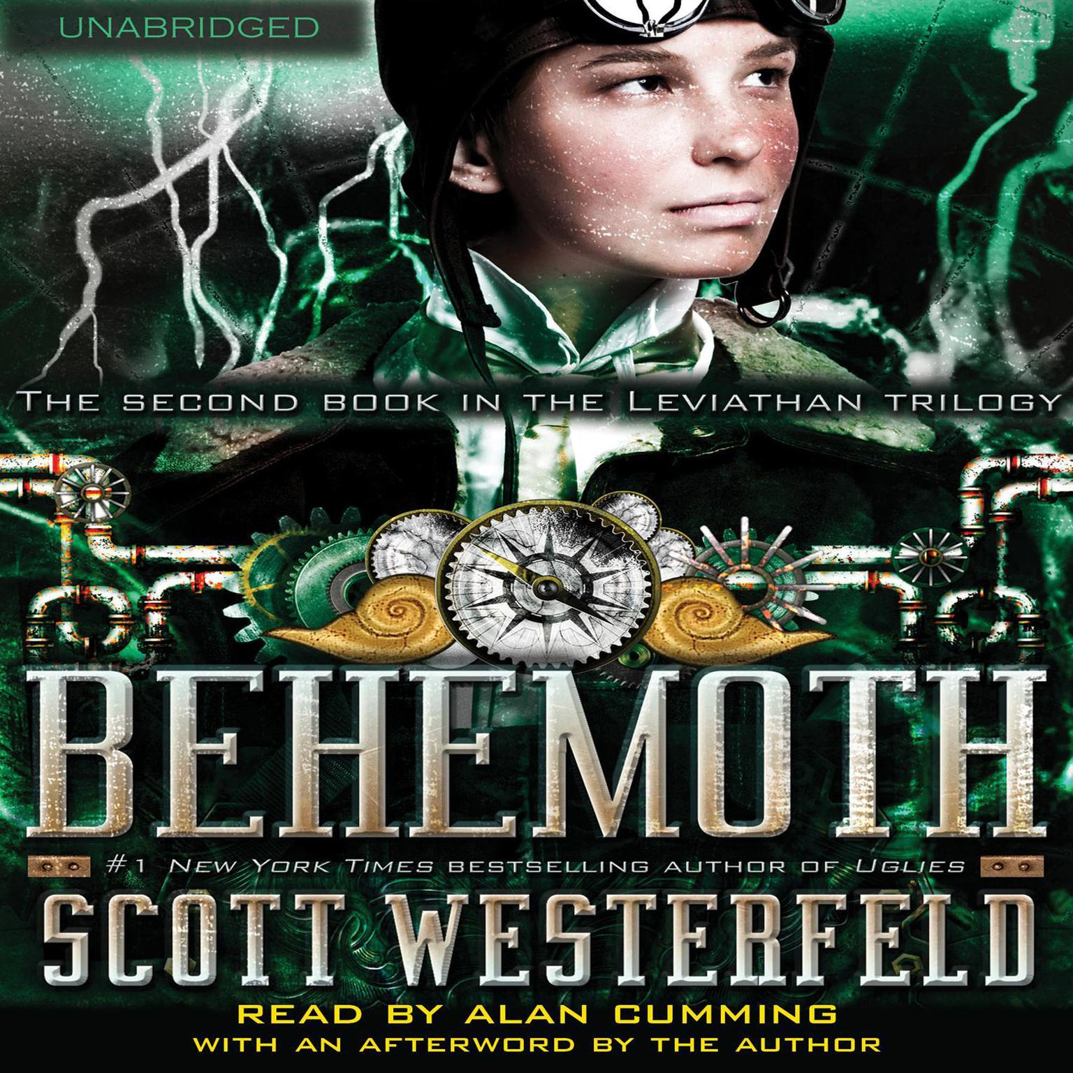 Printable Behemoth Audiobook Cover Art