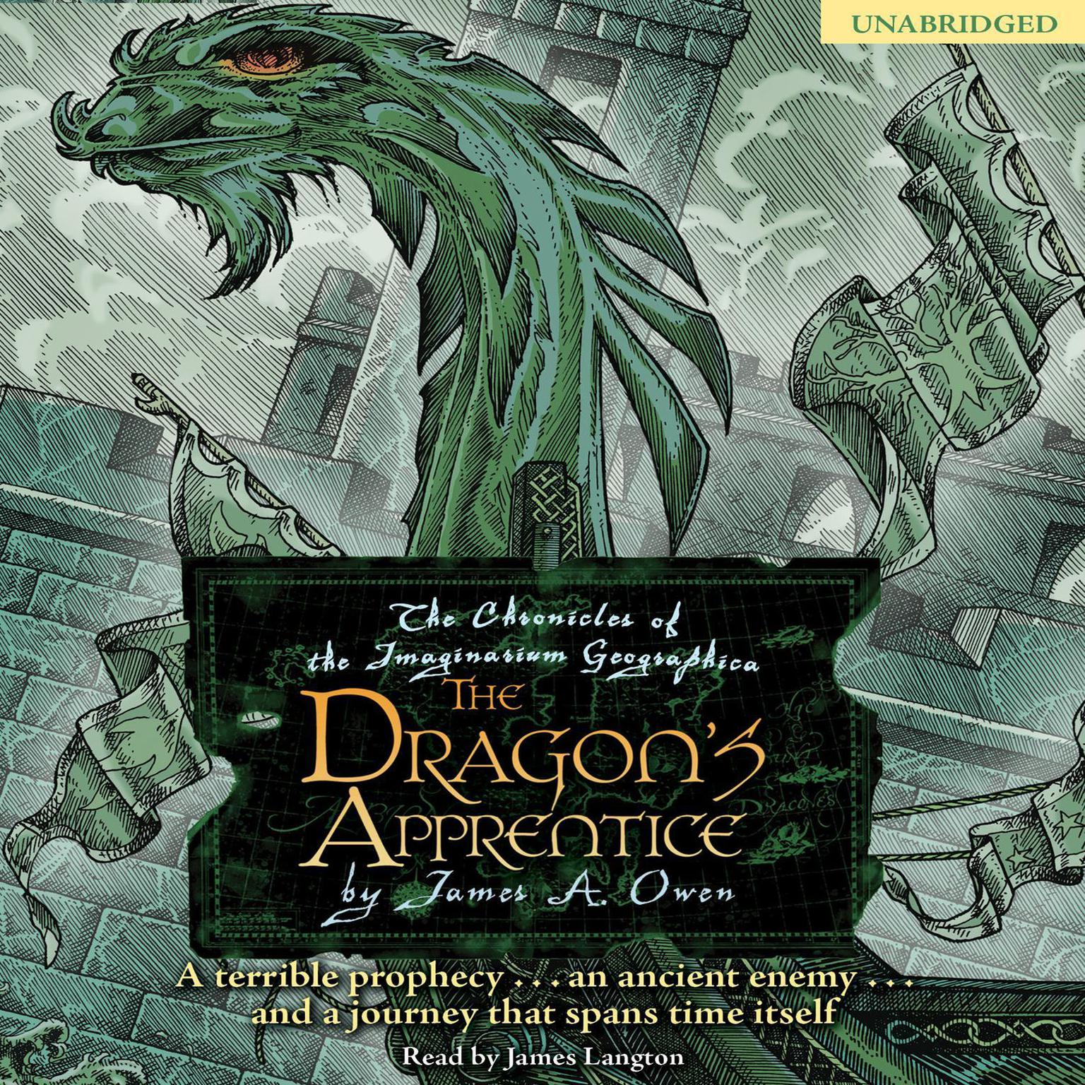 Printable The Dragon's Apprentice: The Chronicles of the Imaginarium Geographica, Book 5 Audiobook Cover Art