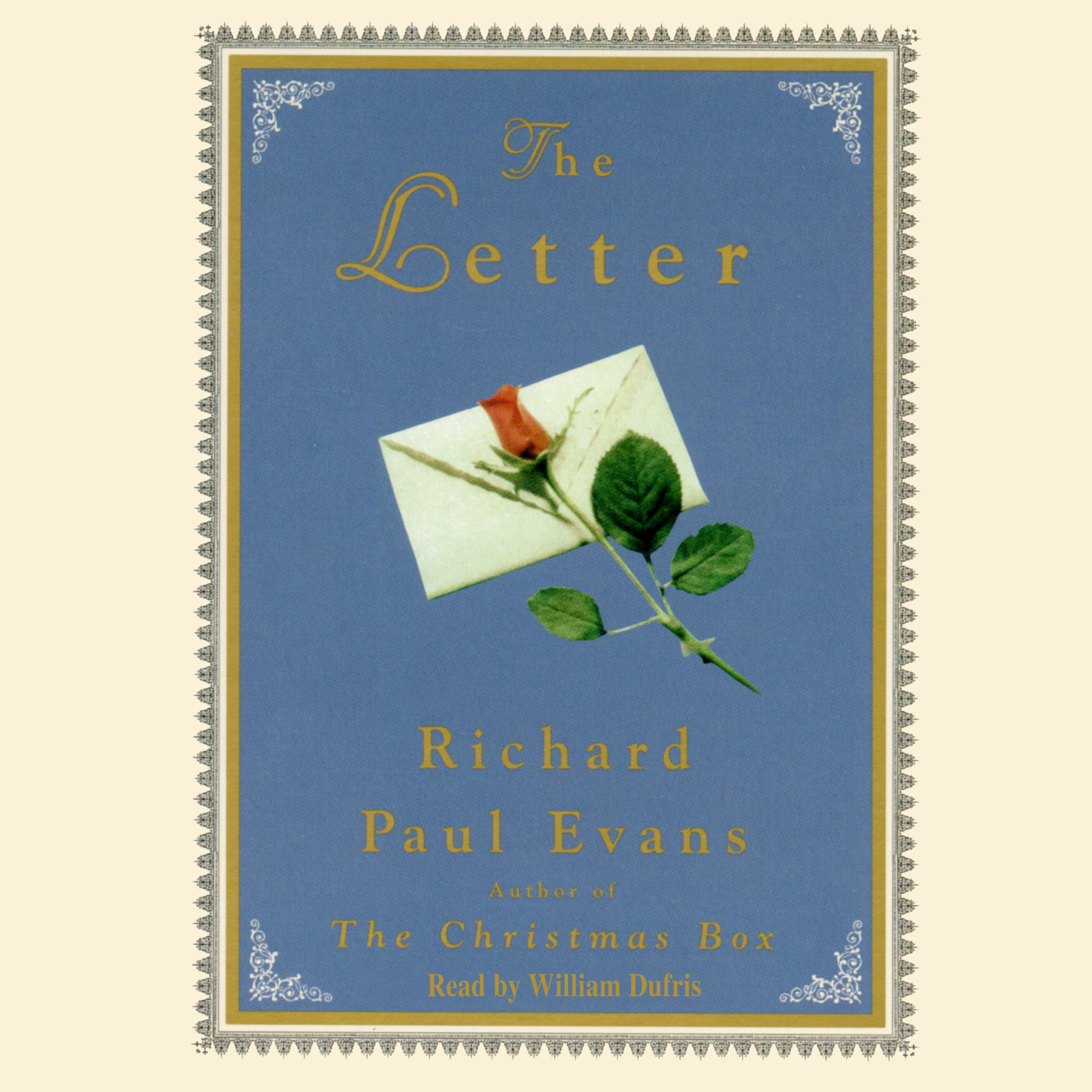 Printable The Letter Audiobook Cover Art