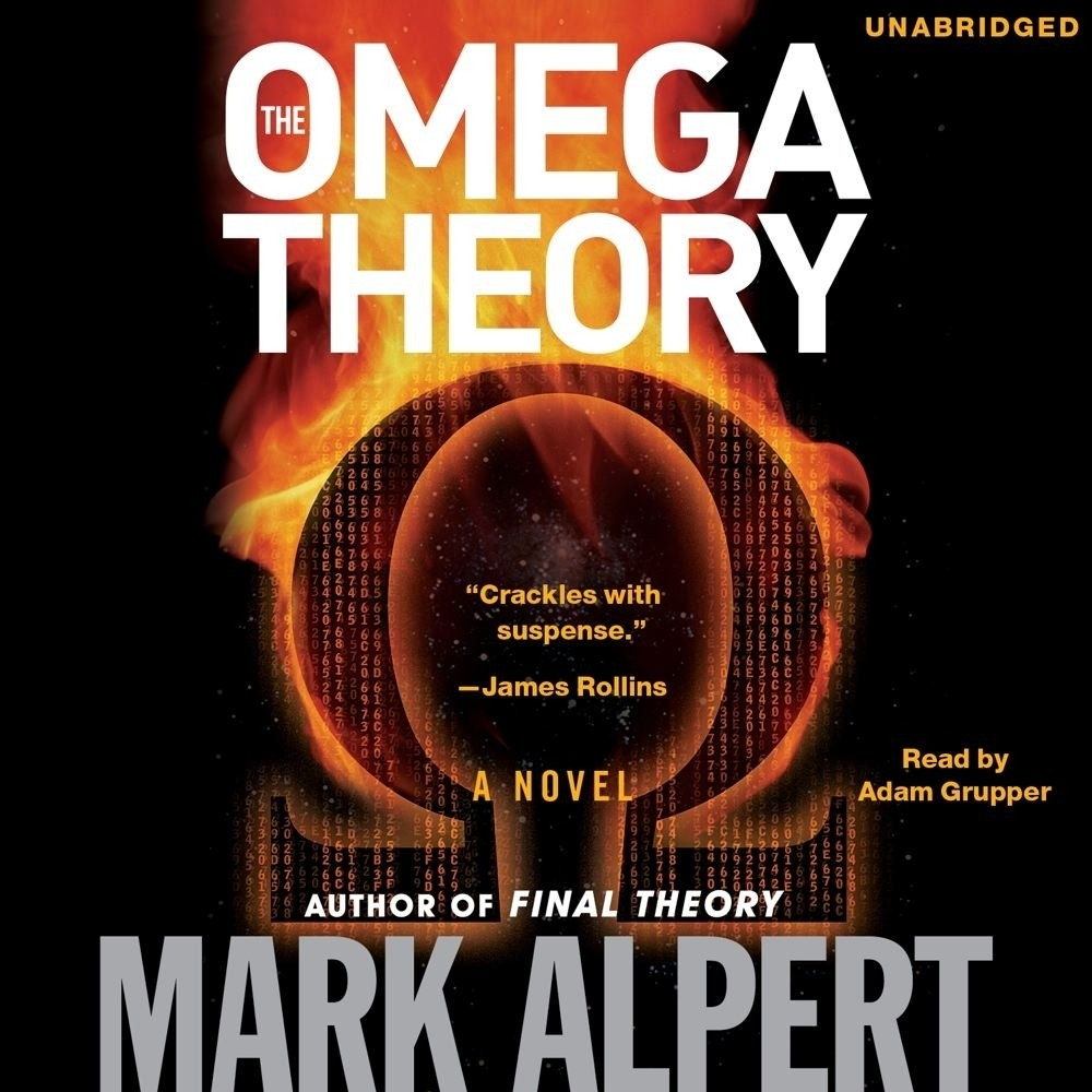 Printable The Omega Theory: A Novel Audiobook Cover Art