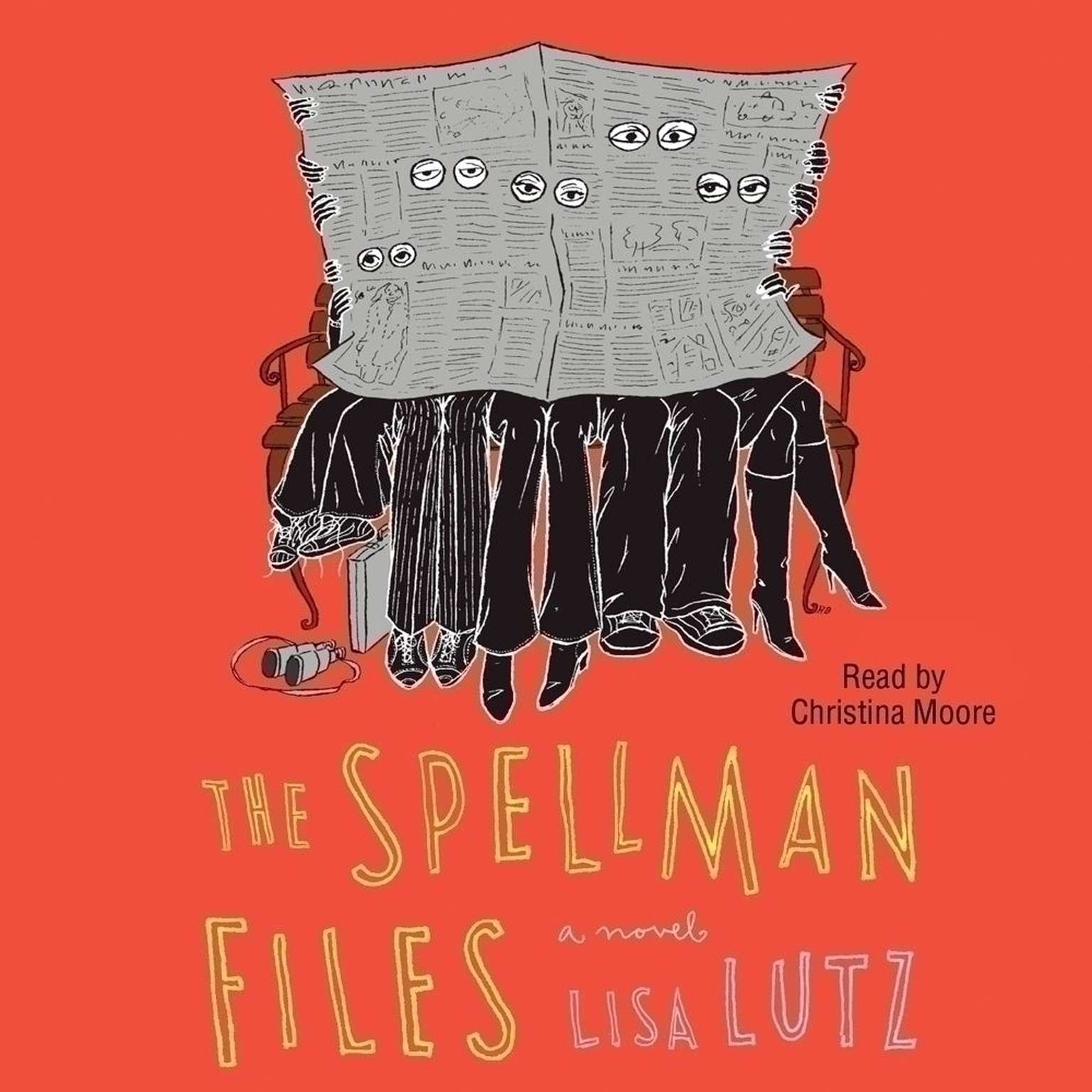 Printable Spellman Files Audiobook Cover Art