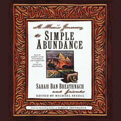 A Mans Journey to Simple Abundance, by Sarah Ban Breathnach
