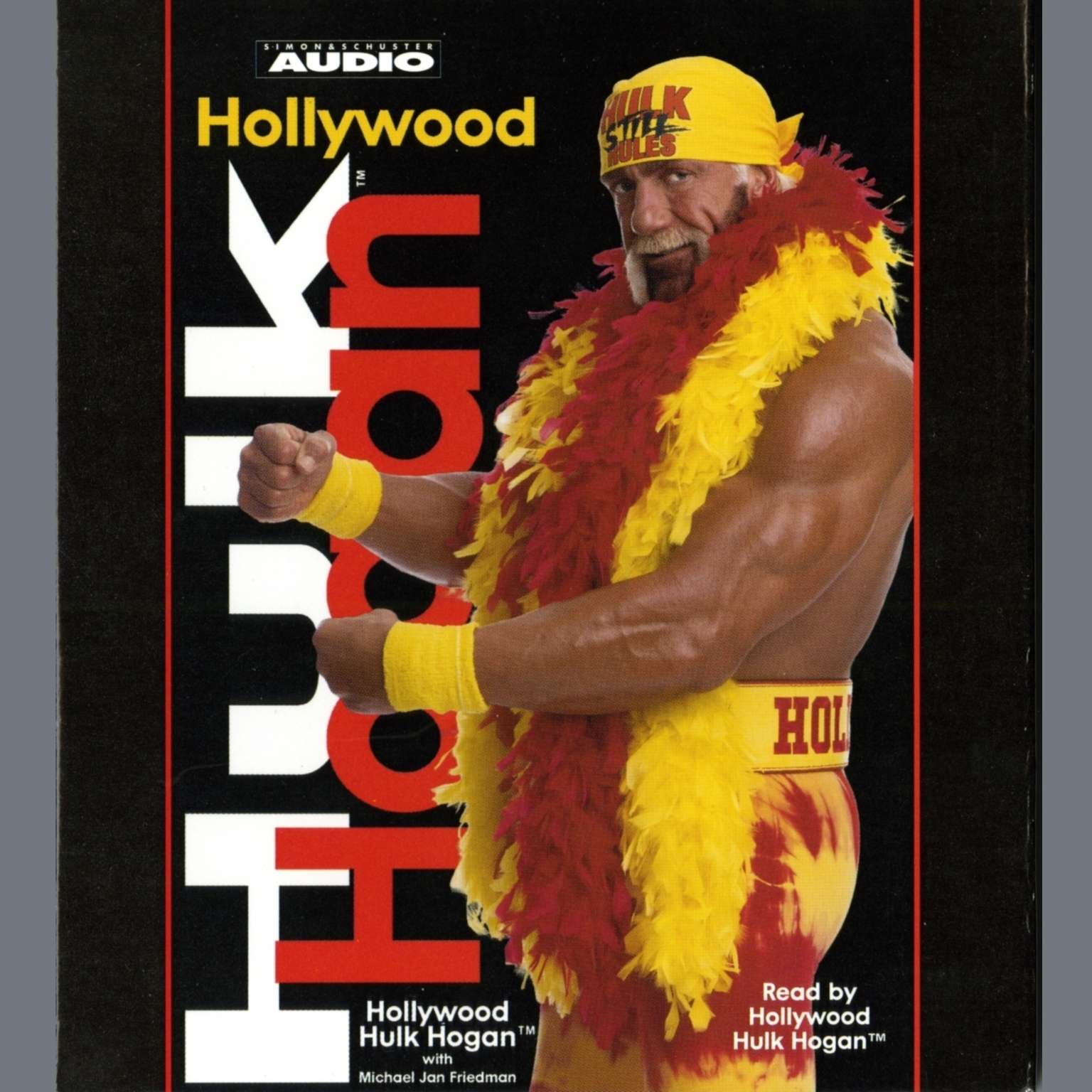 Printable Hollywood Hulk Hogan Audiobook Cover Art
