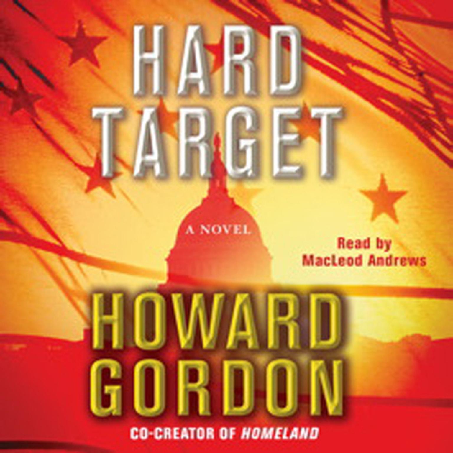 Printable Hard Target: A Novel Audiobook Cover Art