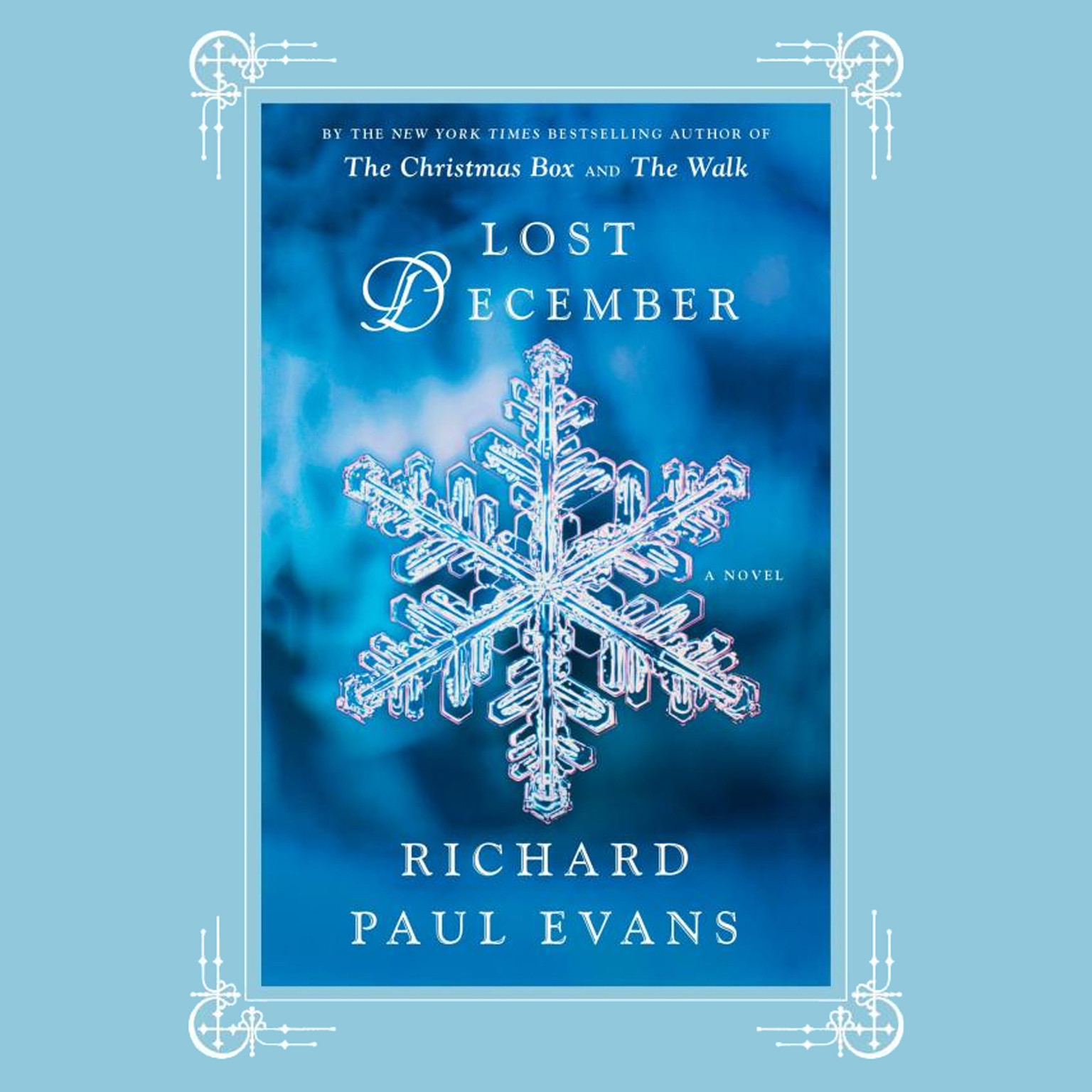 Printable Lost December: A Novel Audiobook Cover Art