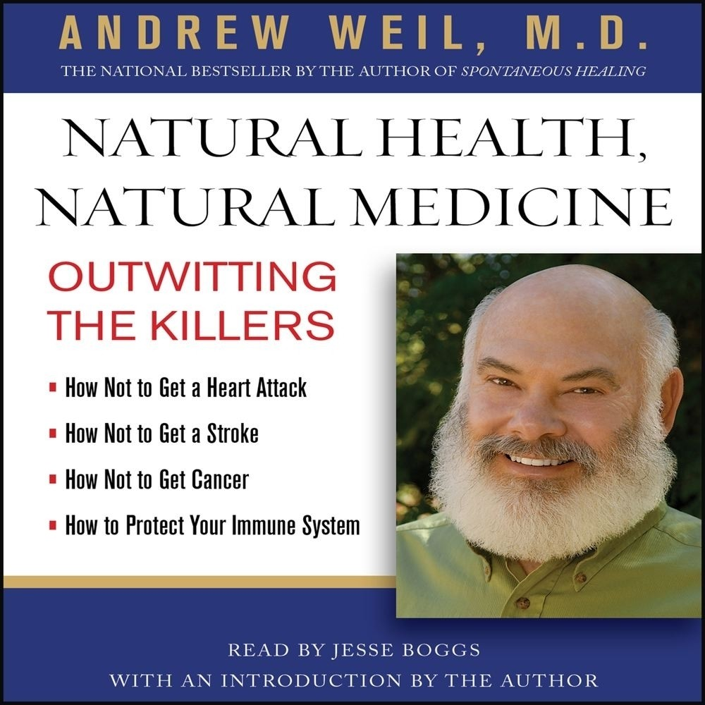 Printable Natural Health, Natural Medicine: Outwitting the Killers Audiobook Cover Art