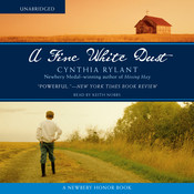 A Fine White Dust Audiobook, by Cynthia Rylant