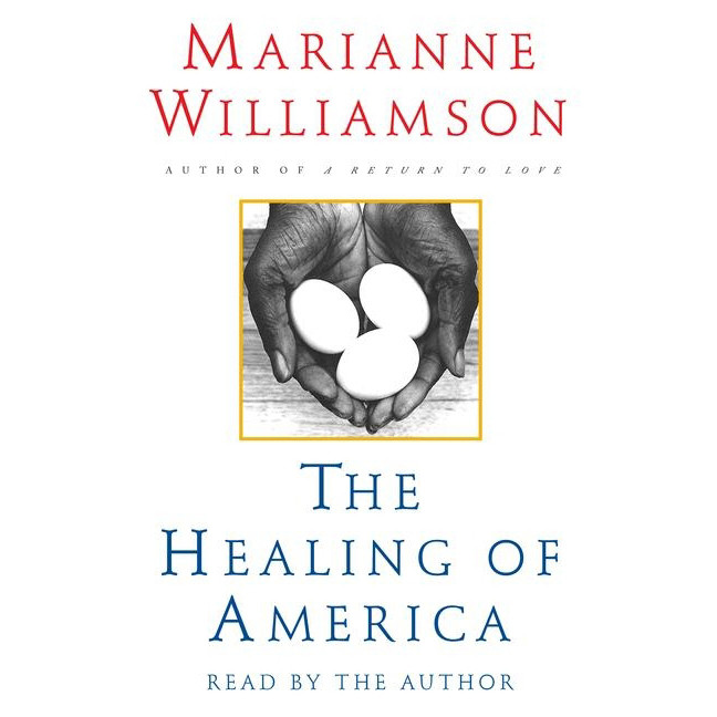 Printable The Healing of America Audiobook Cover Art