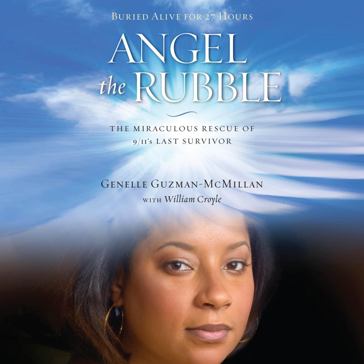 Printable Angel in the Rubble: The Miraculous Rescue of 9/11's Last Survivor Audiobook Cover Art