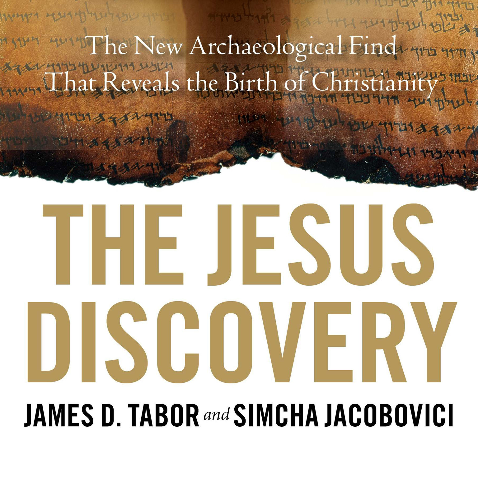 Printable The Jesus Discovery: The New Archaeological Find That Reveals the Birth of Christianity Audiobook Cover Art
