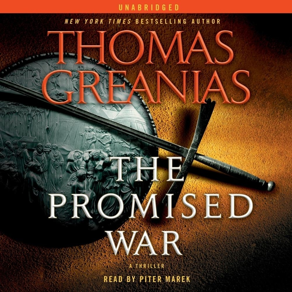 Printable The Promised War: A Thriller Audiobook Cover Art