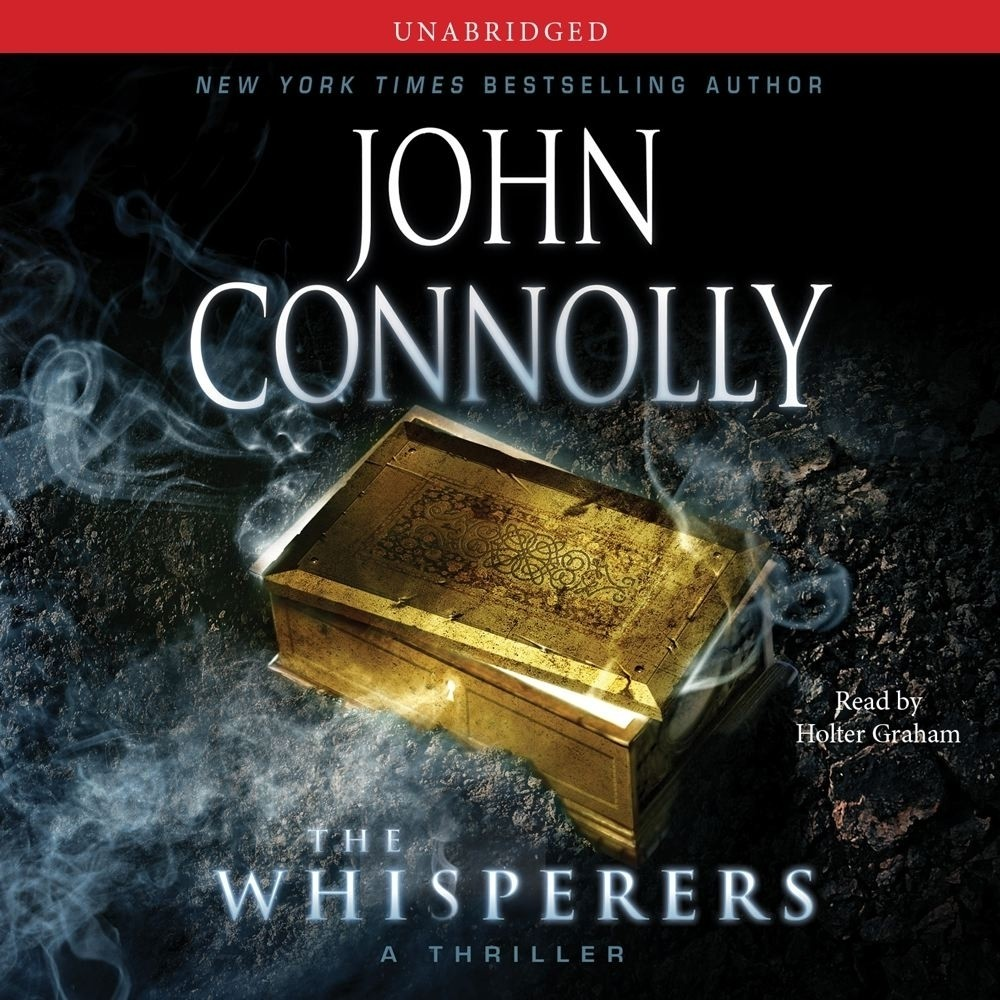 Printable The Whisperers: A Charlie Parker Thriller Audiobook Cover Art