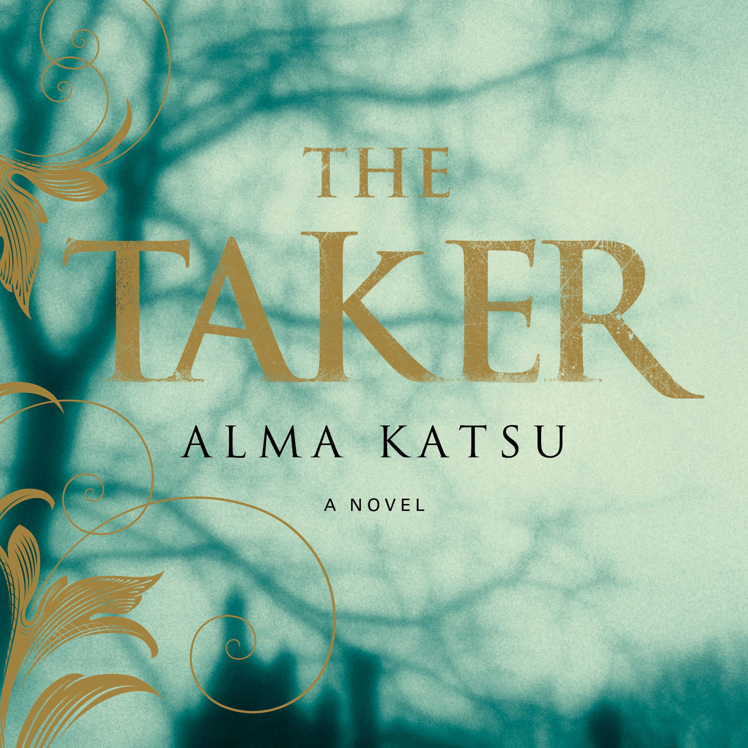Printable The Taker Audiobook Cover Art
