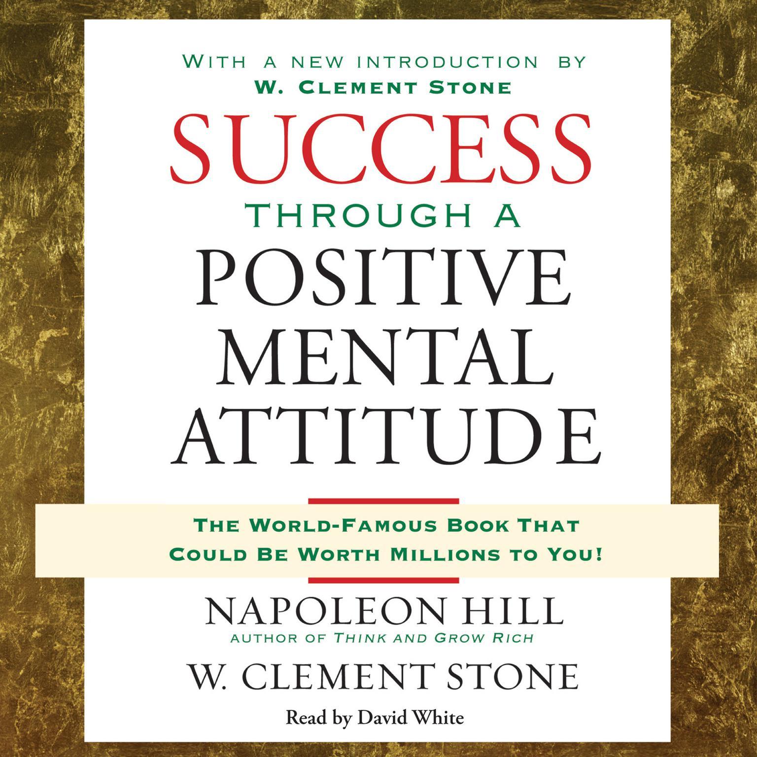 Printable Success Through a Positive Mental Attitude Audiobook Cover Art