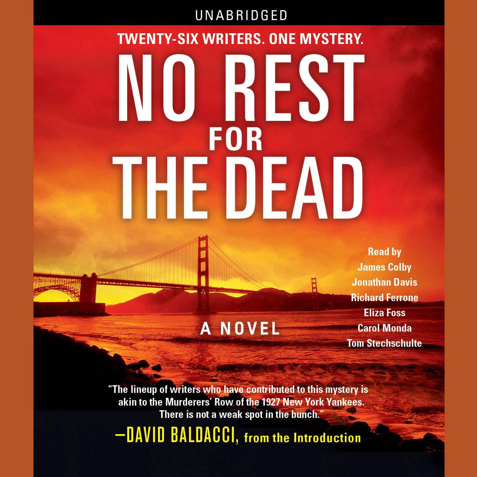 Printable No Rest for the Dead Audiobook Cover Art