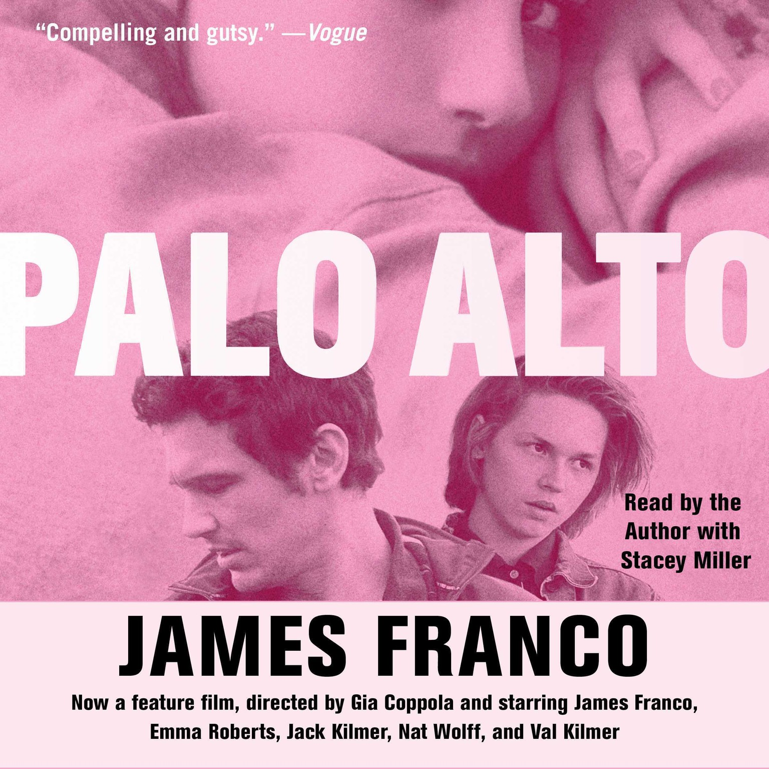 Printable Palo Alto: Stories Audiobook Cover Art