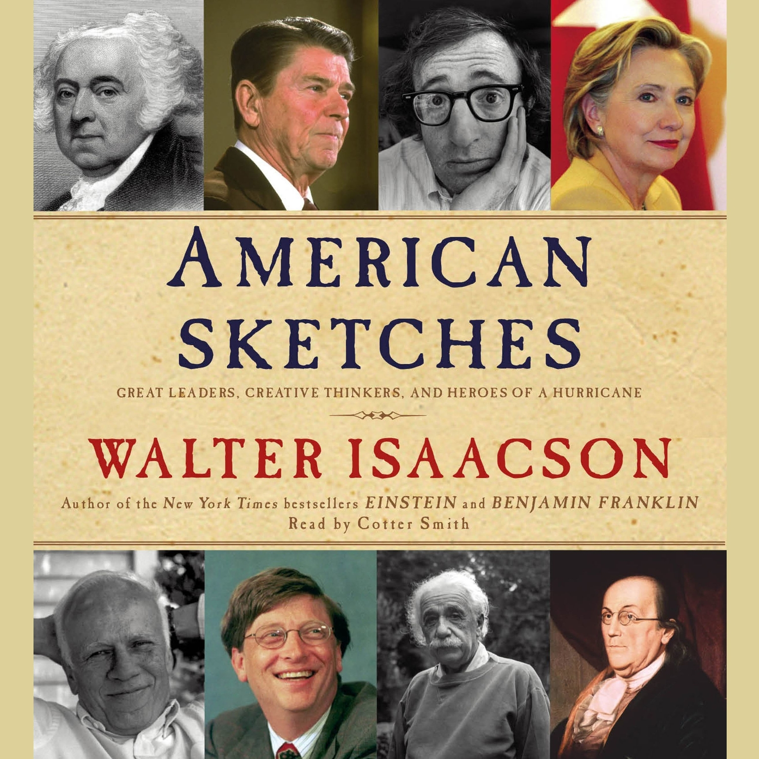 Printable American Sketches: Great Leaders, Creative Thinkers, and Heroes of a Hurricane Audiobook Cover Art