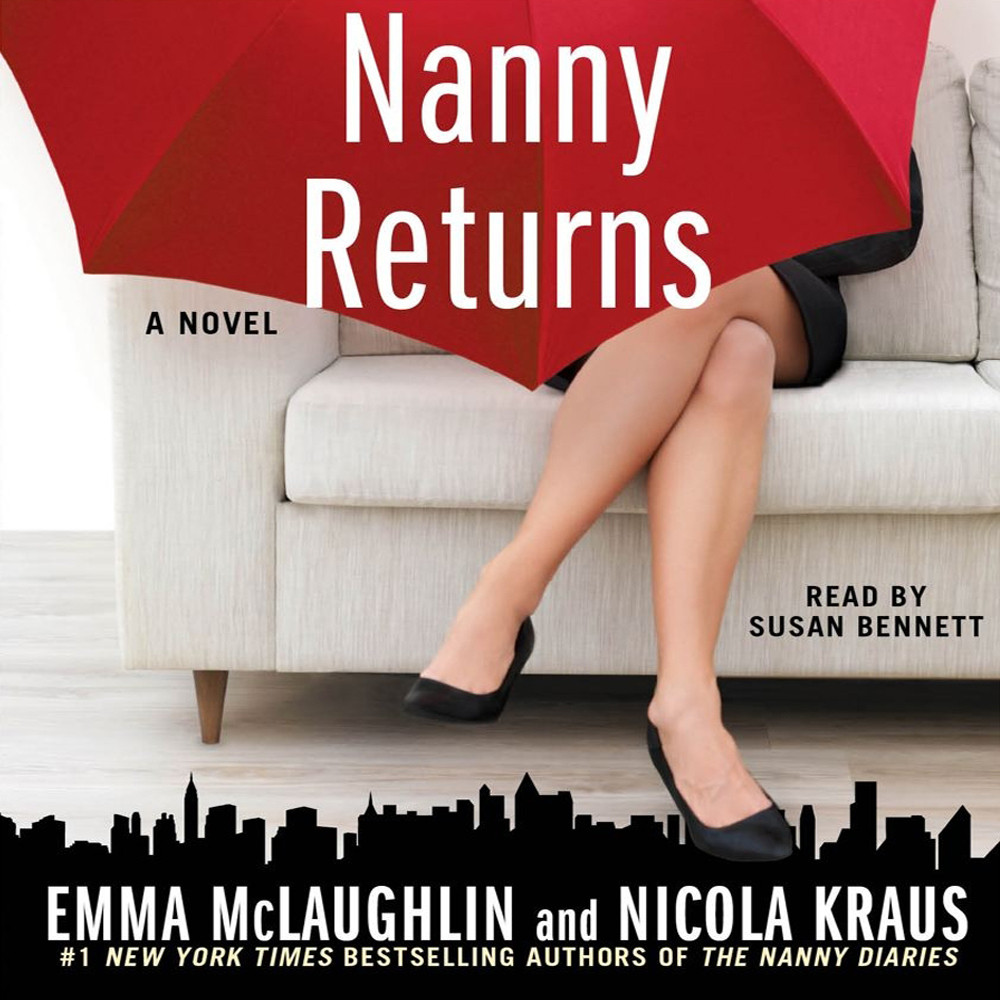 Printable Nanny Returns: A Novel Audiobook Cover Art