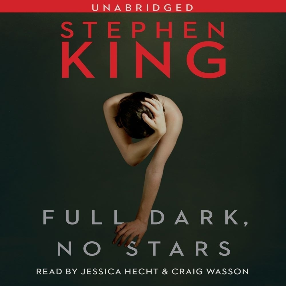Printable Full Dark, No Stars Audiobook Cover Art